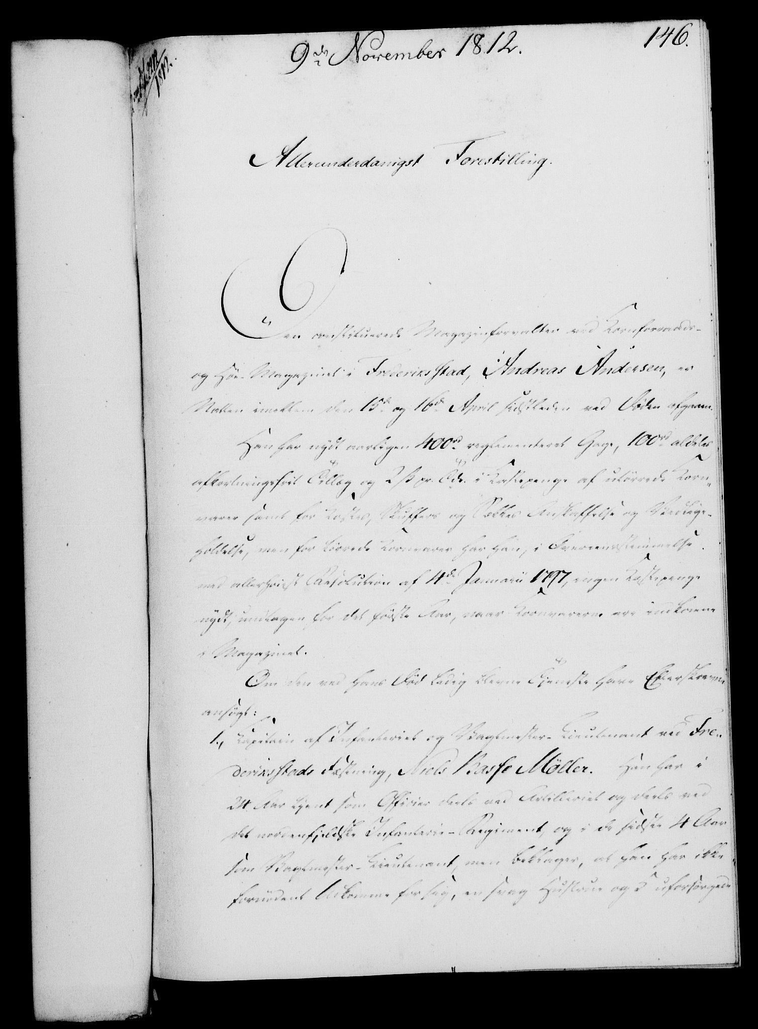 RA, Rentekammeret, Kammerkanselliet, G/Gf/Gfa/L0094: Norsk relasjons- og resolusjonsprotokoll (merket RK 52.94), 1812, s. 553