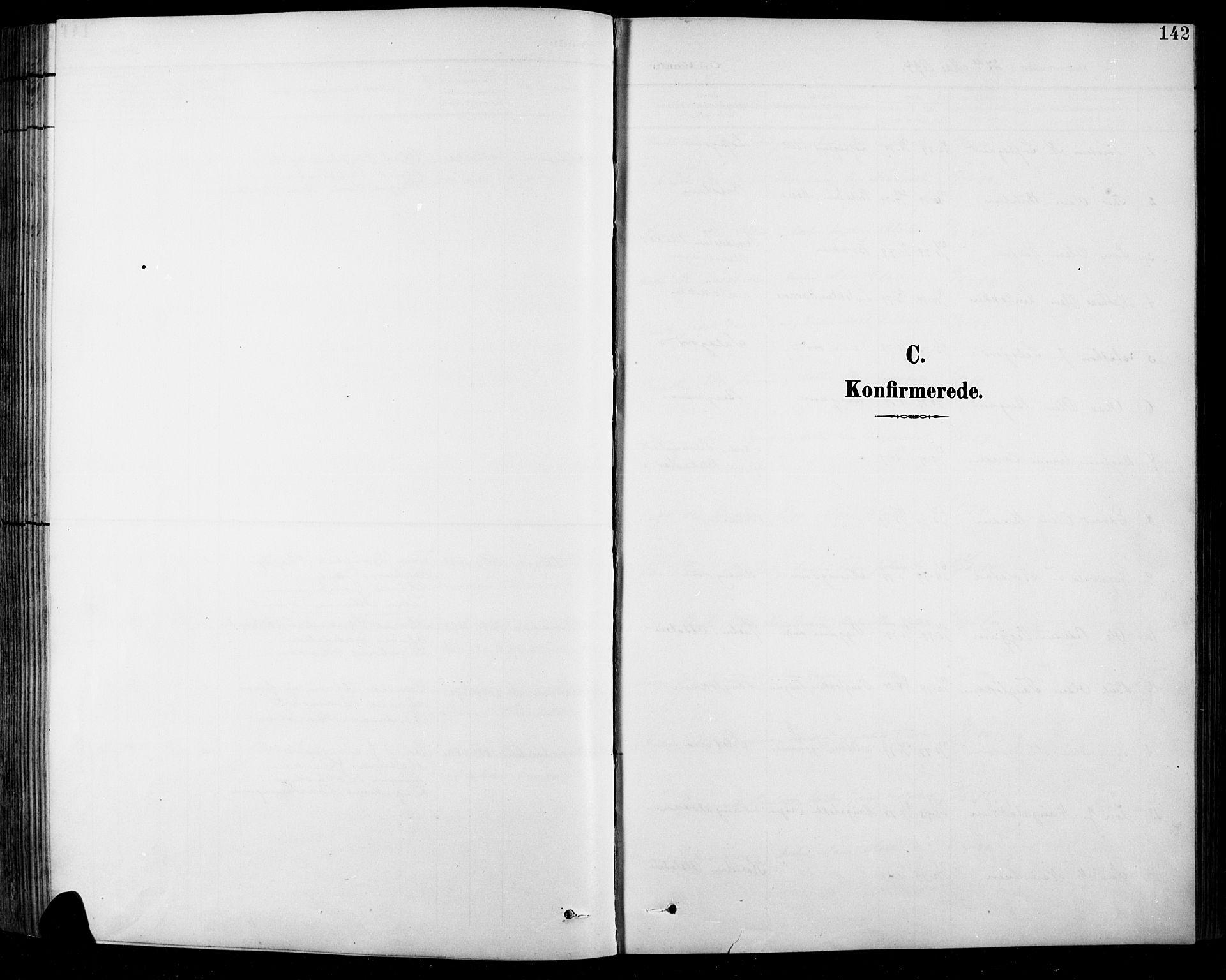 SAH, Sel prestekontor, Klokkerbok nr. 1, 1894-1923, s. 142