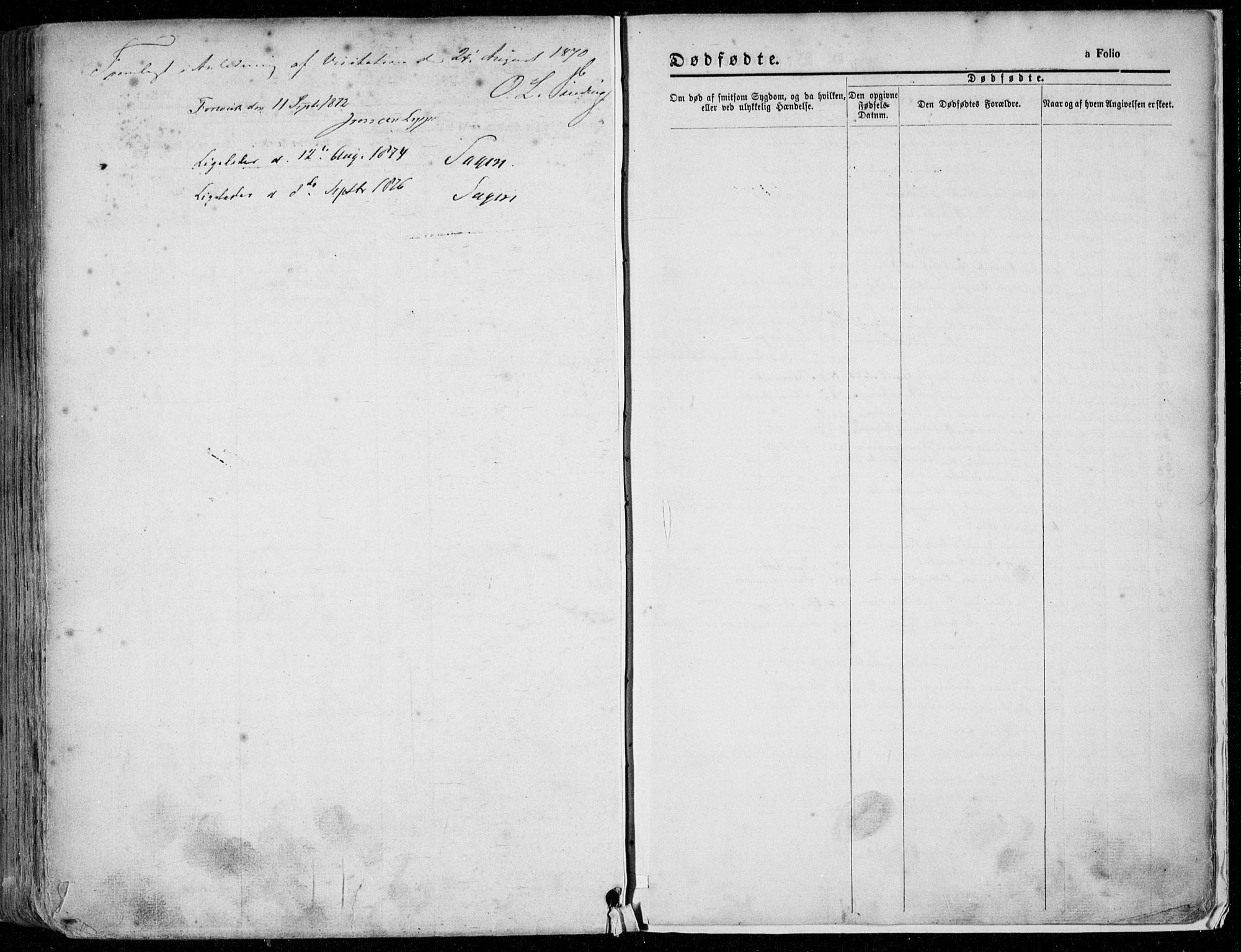 SAST, Domkirken sokneprestkontor, 30/30BA/L0020: Ministerialbok nr. A 19, 1858-1877