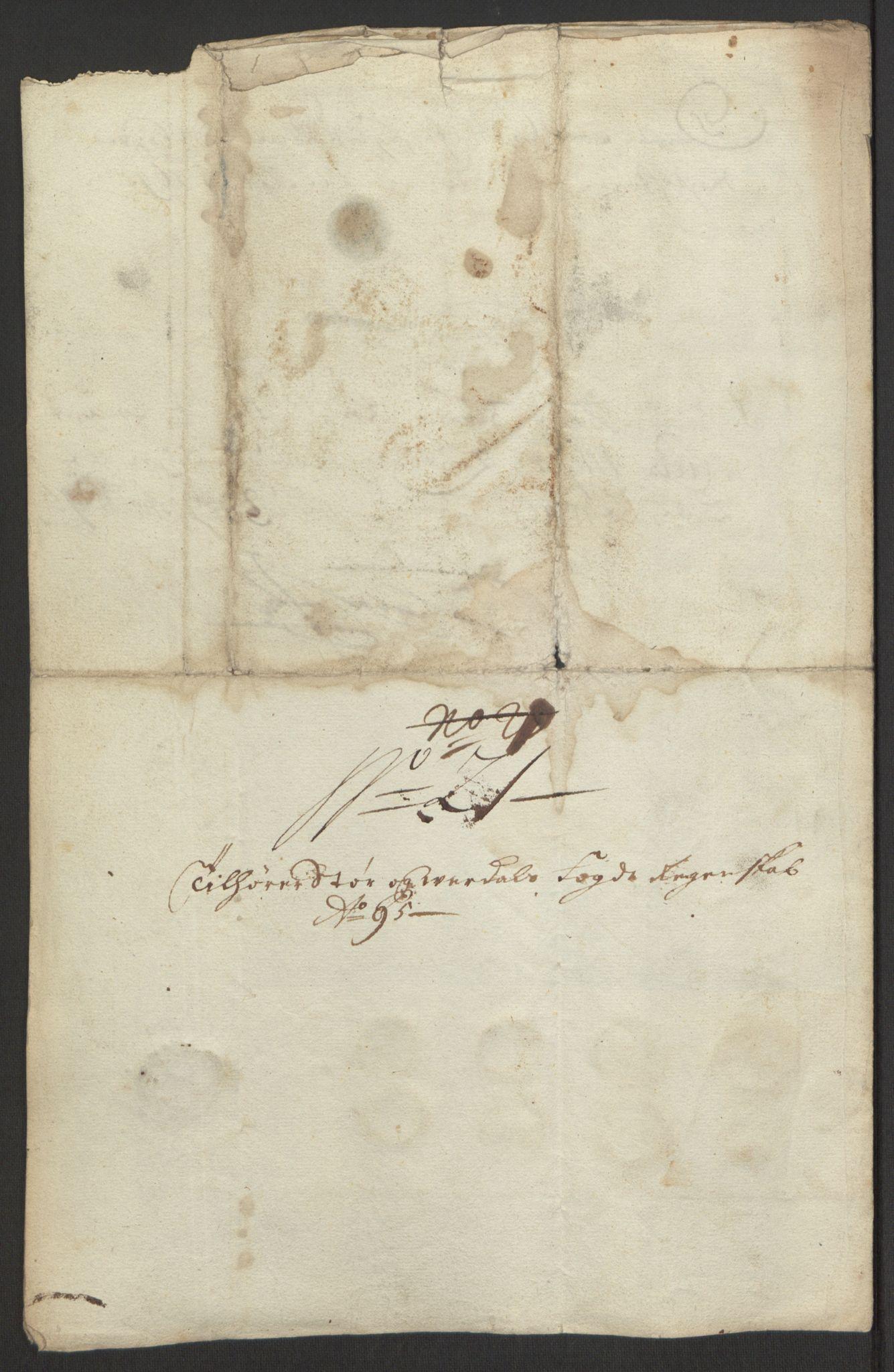 RA, Rentekammeret inntil 1814, Reviderte regnskaper, Fogderegnskap, R62/L4187: Fogderegnskap Stjørdal og Verdal, 1695, s. 227