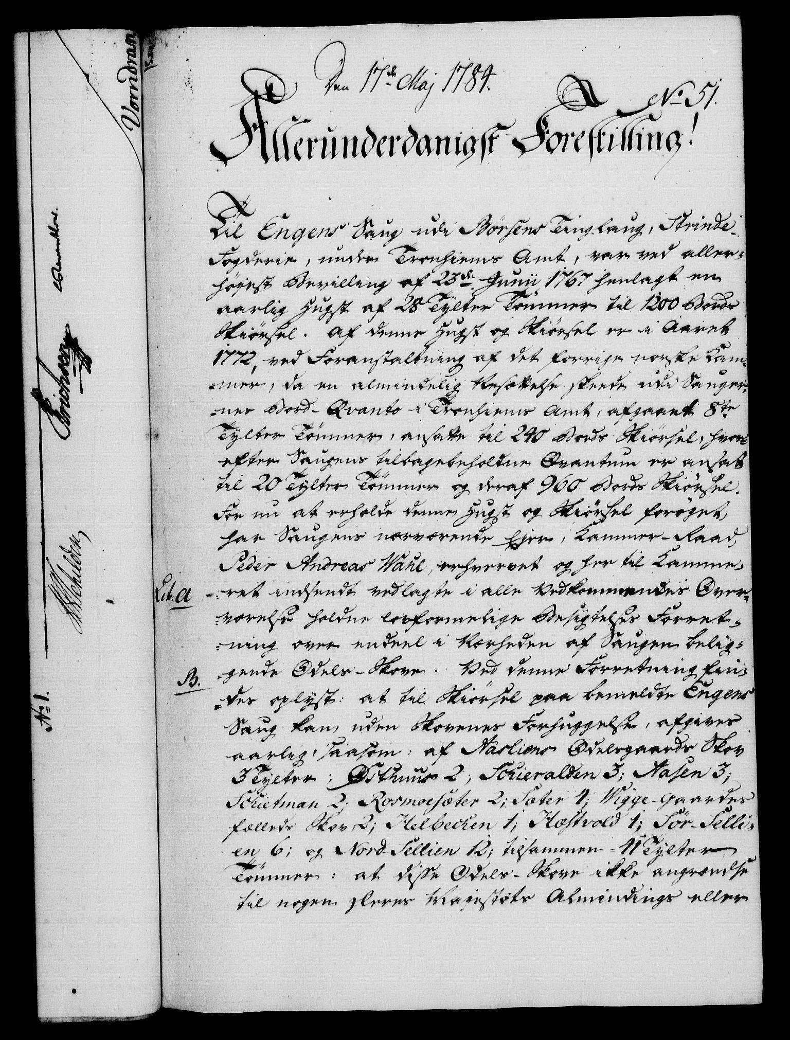 RA, Rentekammeret, Kammerkanselliet, G/Gf/Gfa/L0066: Norsk relasjons- og resolusjonsprotokoll (merket RK 52.66), 1784, s. 400