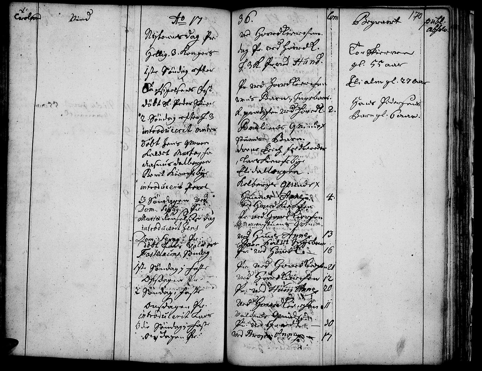 SAH, Vardal prestekontor, H/Ha/Haa/L0001: Ministerialbok nr. 1, 1706-1748, s. 170