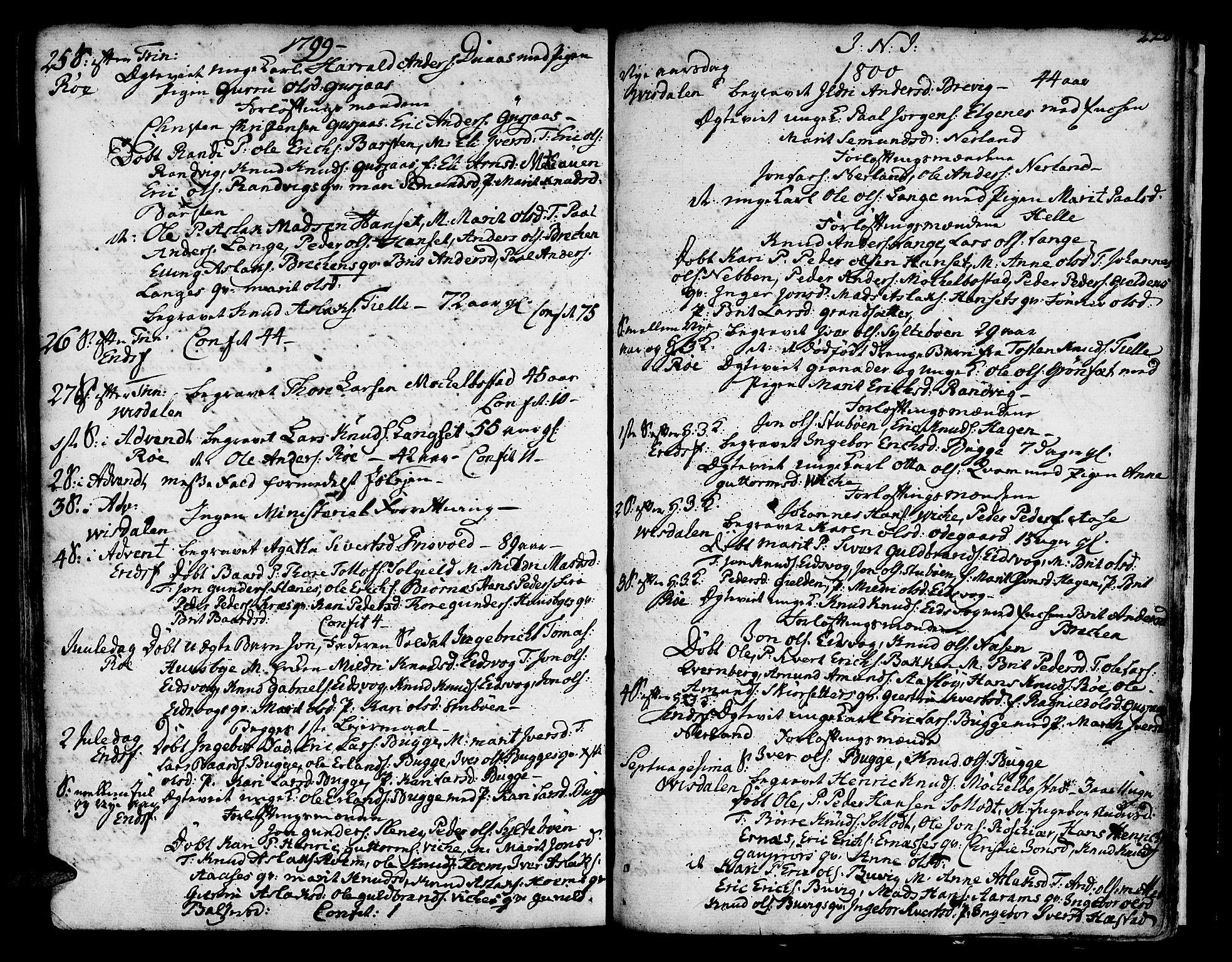 SAT, Ministerialprotokoller, klokkerbøker og fødselsregistre - Møre og Romsdal, 551/L0621: Ministerialbok nr. 551A01, 1757-1803, s. 220