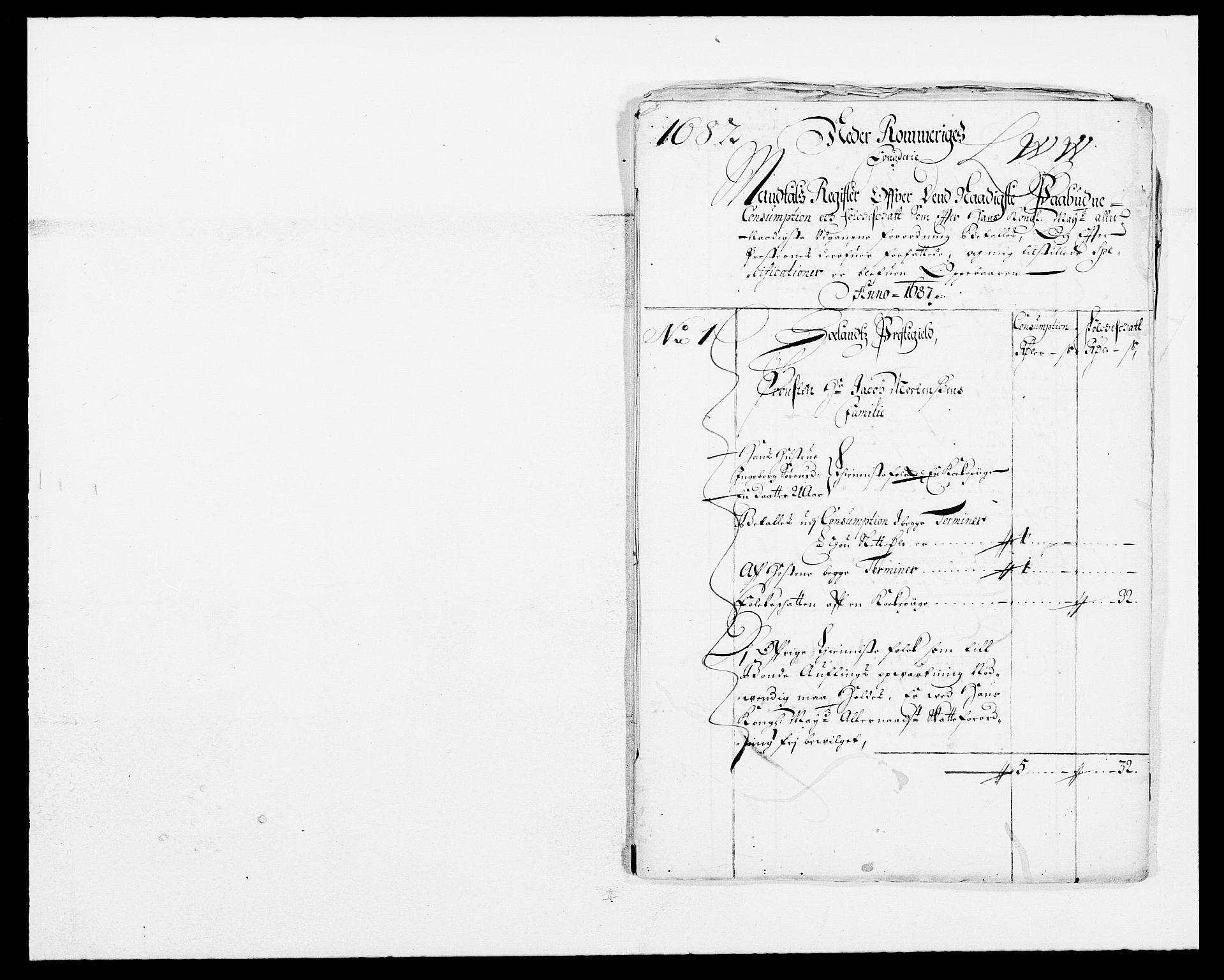RA, Rentekammeret inntil 1814, Reviderte regnskaper, Fogderegnskap, R11/L0572: Fogderegnskap Nedre Romerike, 1686-1687, s. 369