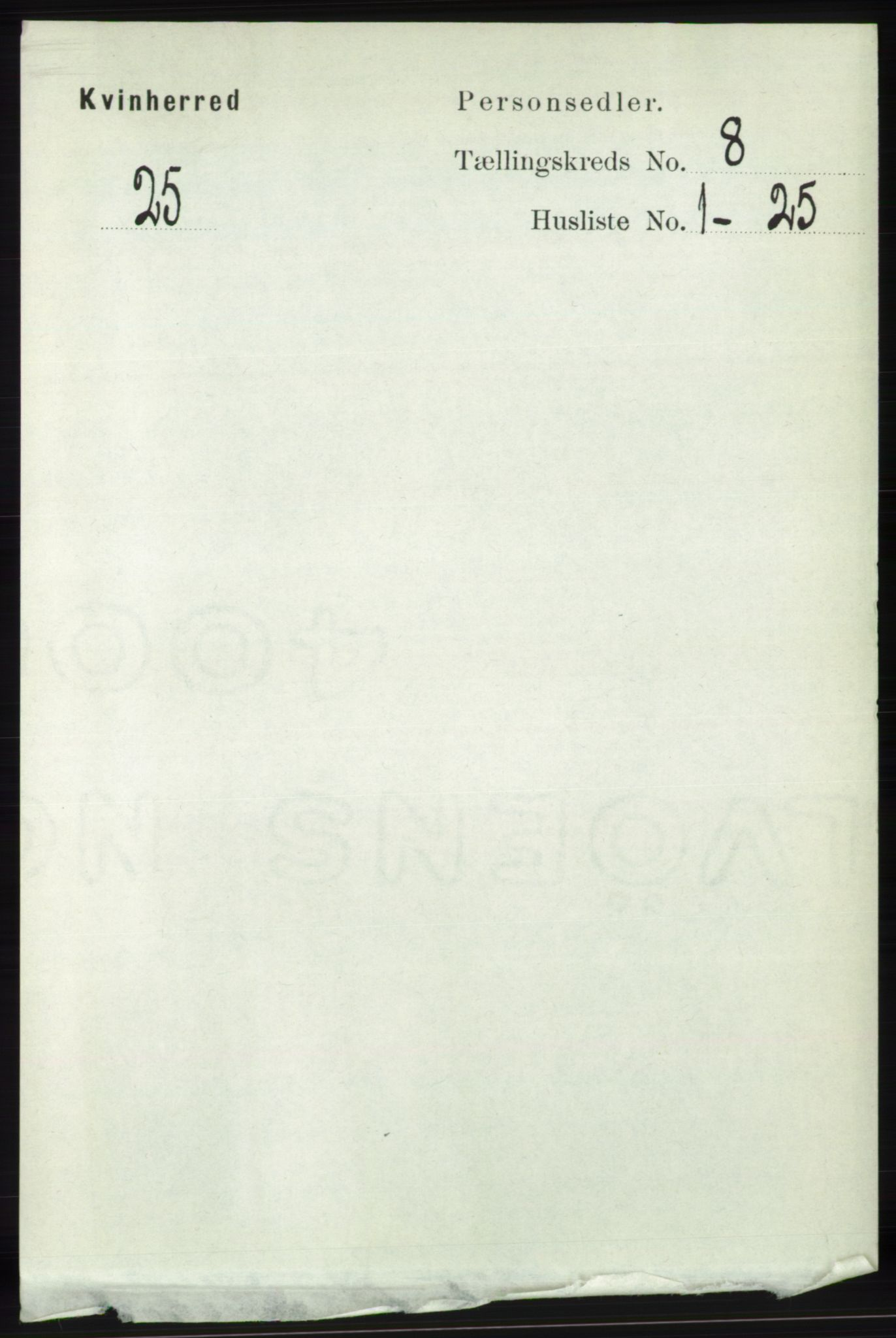 RA, Folketelling 1891 for 1224 Kvinnherad herred, 1891, s. 2972