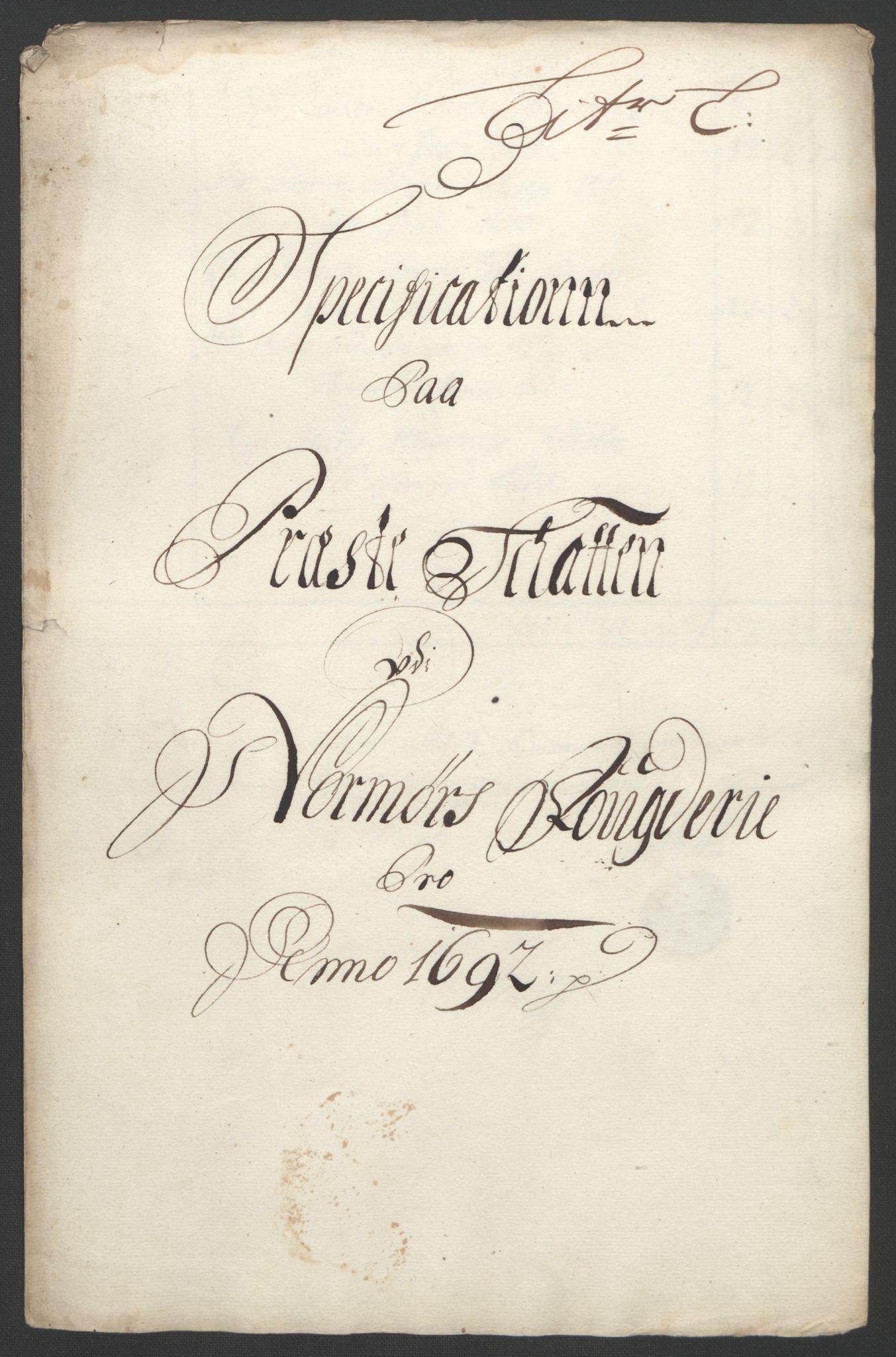 RA, Rentekammeret inntil 1814, Reviderte regnskaper, Fogderegnskap, R56/L3735: Fogderegnskap Nordmøre, 1692-1693, s. 157