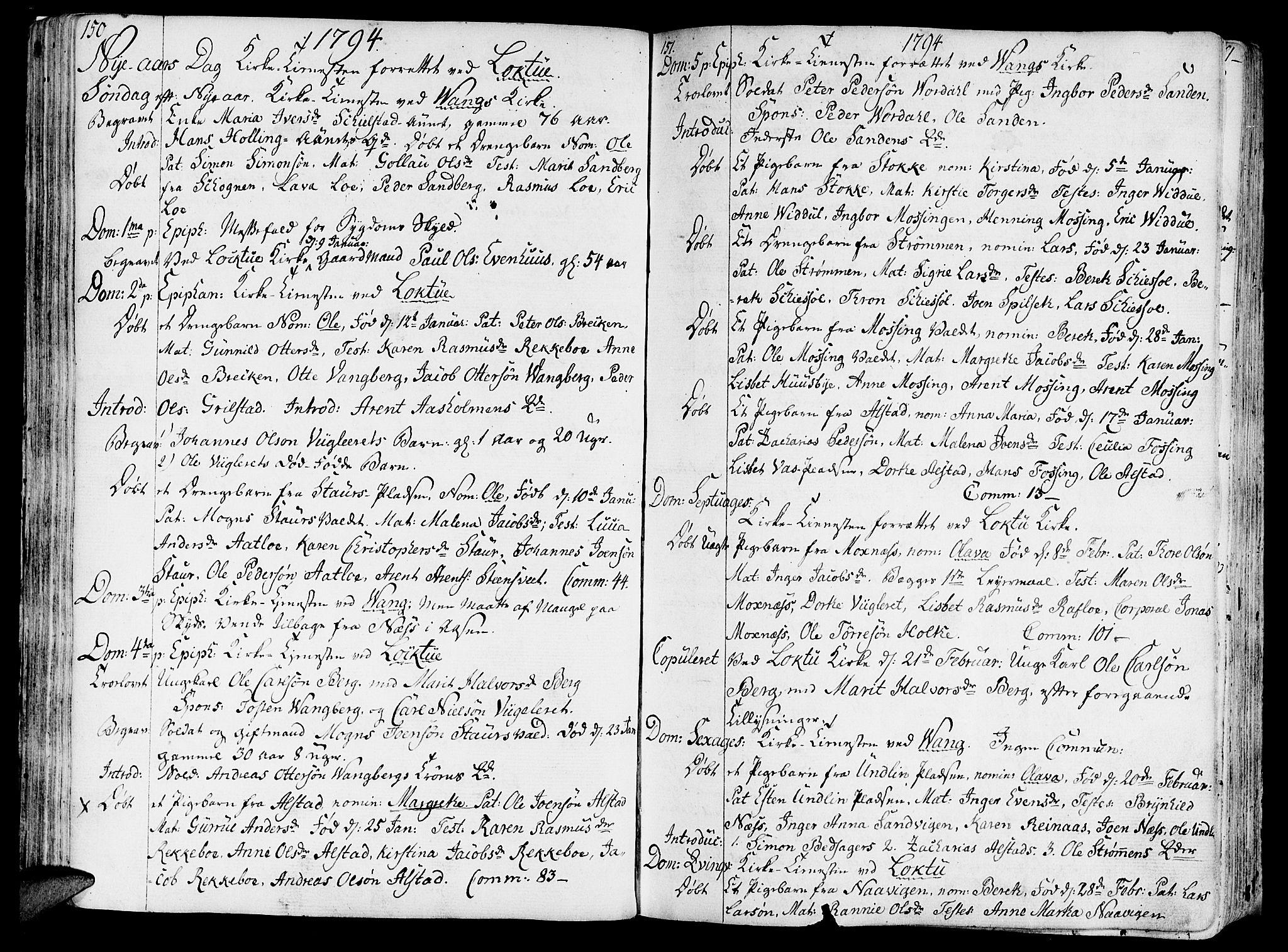 SAT, Ministerialprotokoller, klokkerbøker og fødselsregistre - Nord-Trøndelag, 713/L0110: Ministerialbok nr. 713A02, 1778-1811, s. 150-151