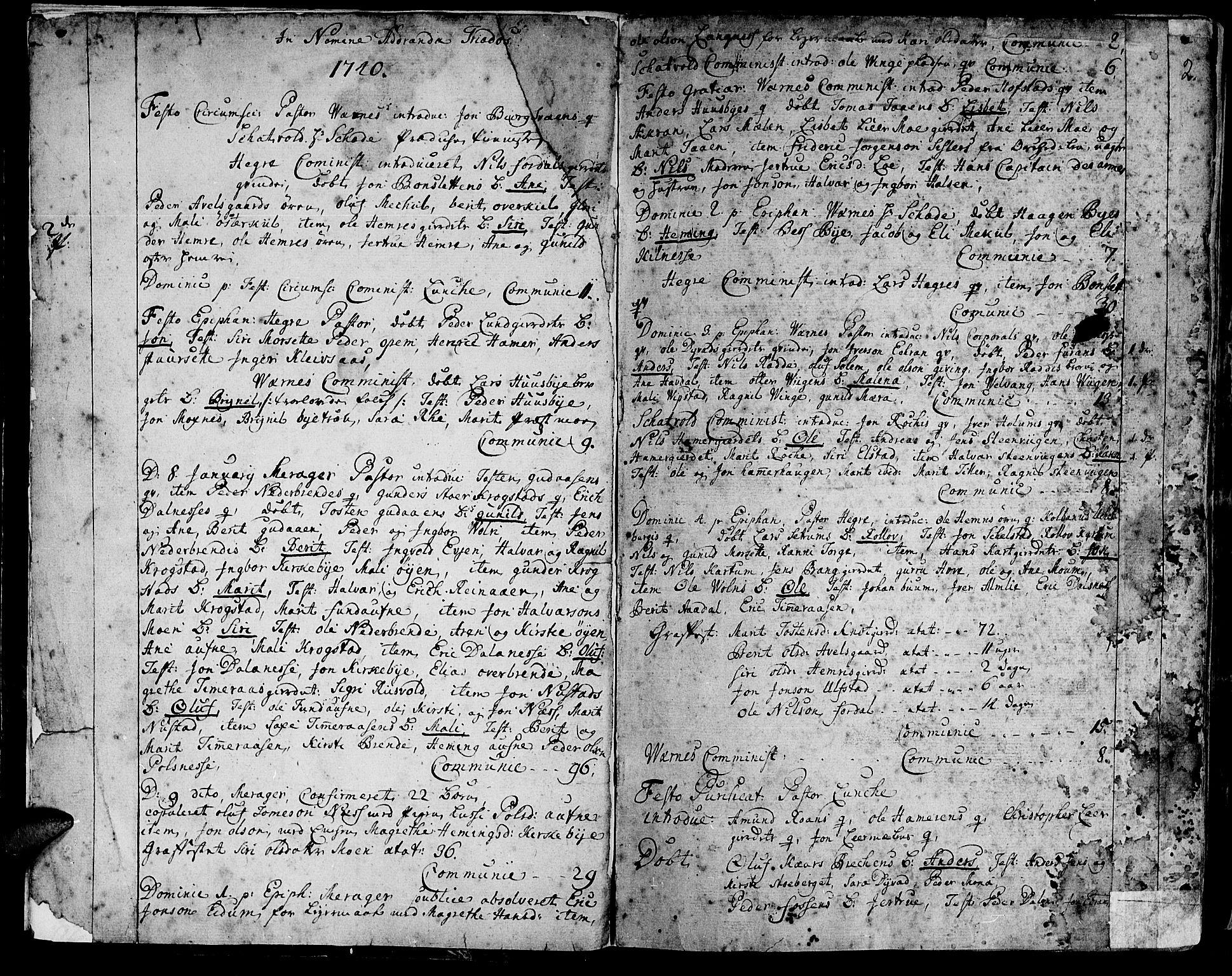 SAT, Ministerialprotokoller, klokkerbøker og fødselsregistre - Nord-Trøndelag, 709/L0056: Ministerialbok nr. 709A04, 1740-1756, s. 2