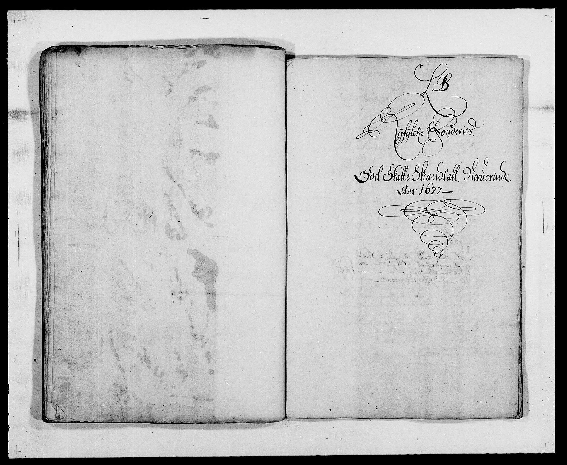 RA, Rentekammeret inntil 1814, Reviderte regnskaper, Fogderegnskap, R47/L2847: Fogderegnskap Ryfylke, 1677, s. 55