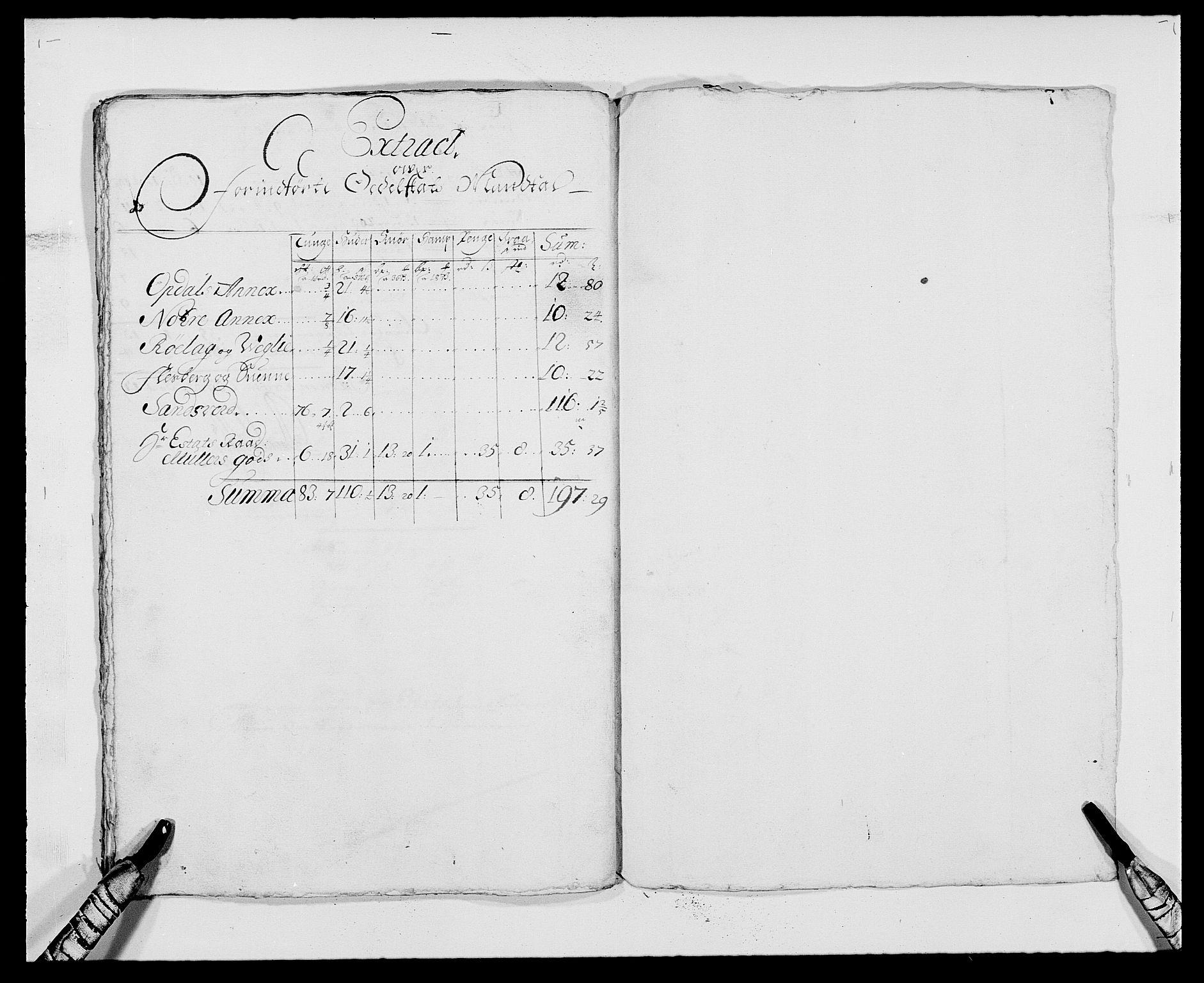 RA, Rentekammeret inntil 1814, Reviderte regnskaper, Fogderegnskap, R24/L1570: Fogderegnskap Numedal og Sandsvær, 1679-1686, s. 329