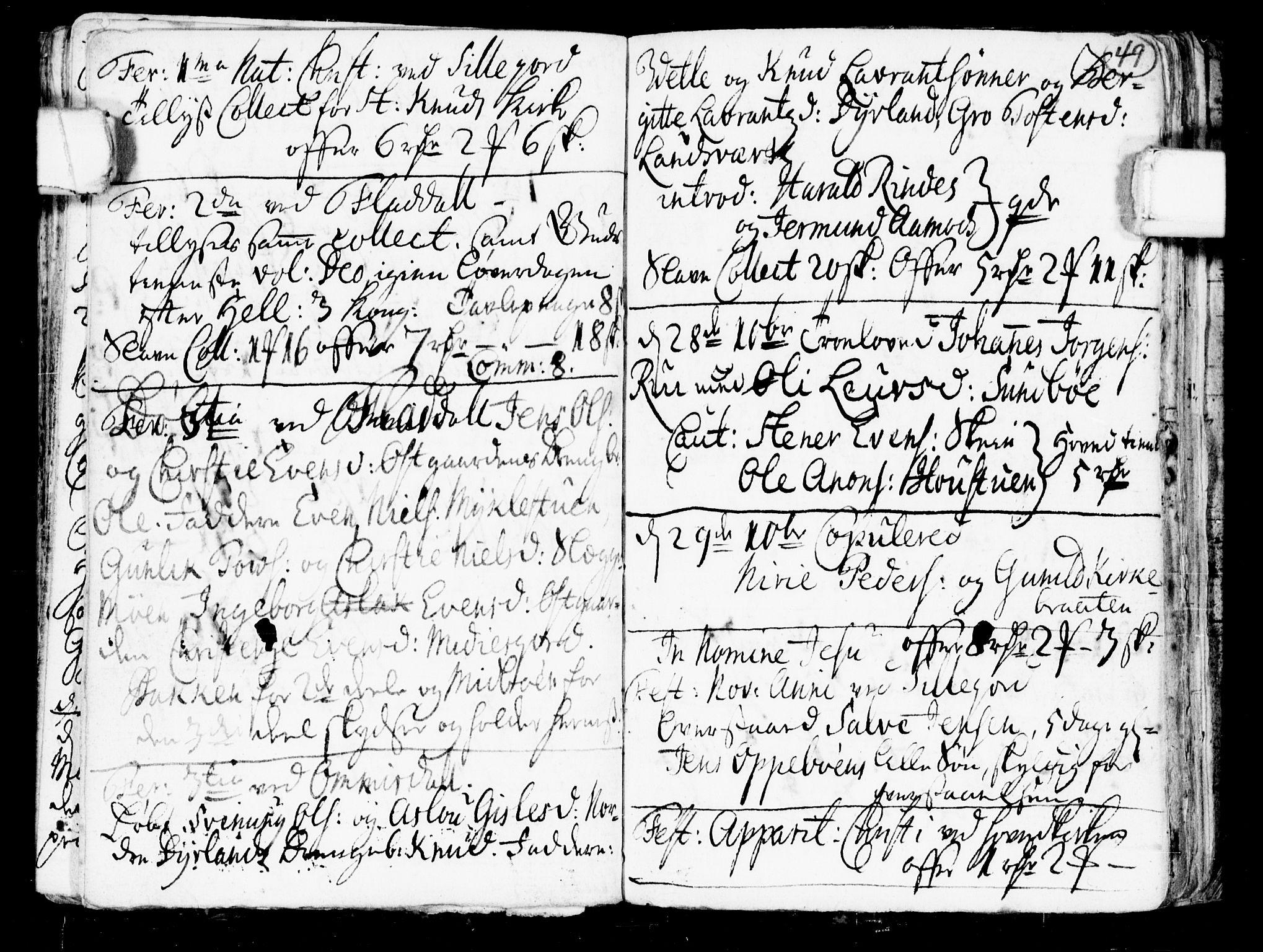 SAKO, Seljord kirkebøker, G/Gb/L0001: Klokkerbok nr. II 1, 1754-1790, s. 48-49
