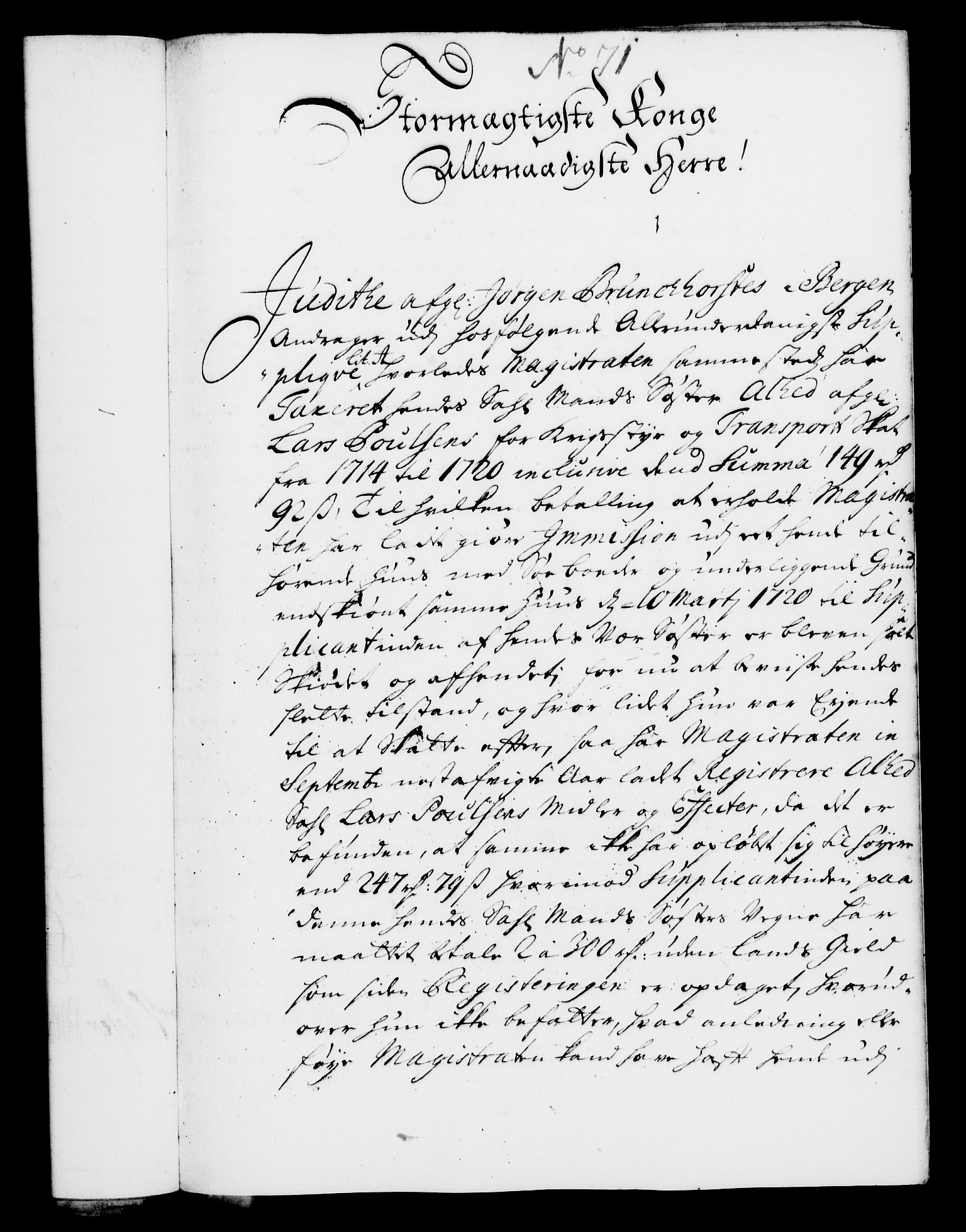 RA, Rentekammeret, Kammerkanselliet, G/Gf/Gfa/L0008: Norsk relasjons- og resolusjonsprotokoll (merket RK 52.8), 1725, s. 392