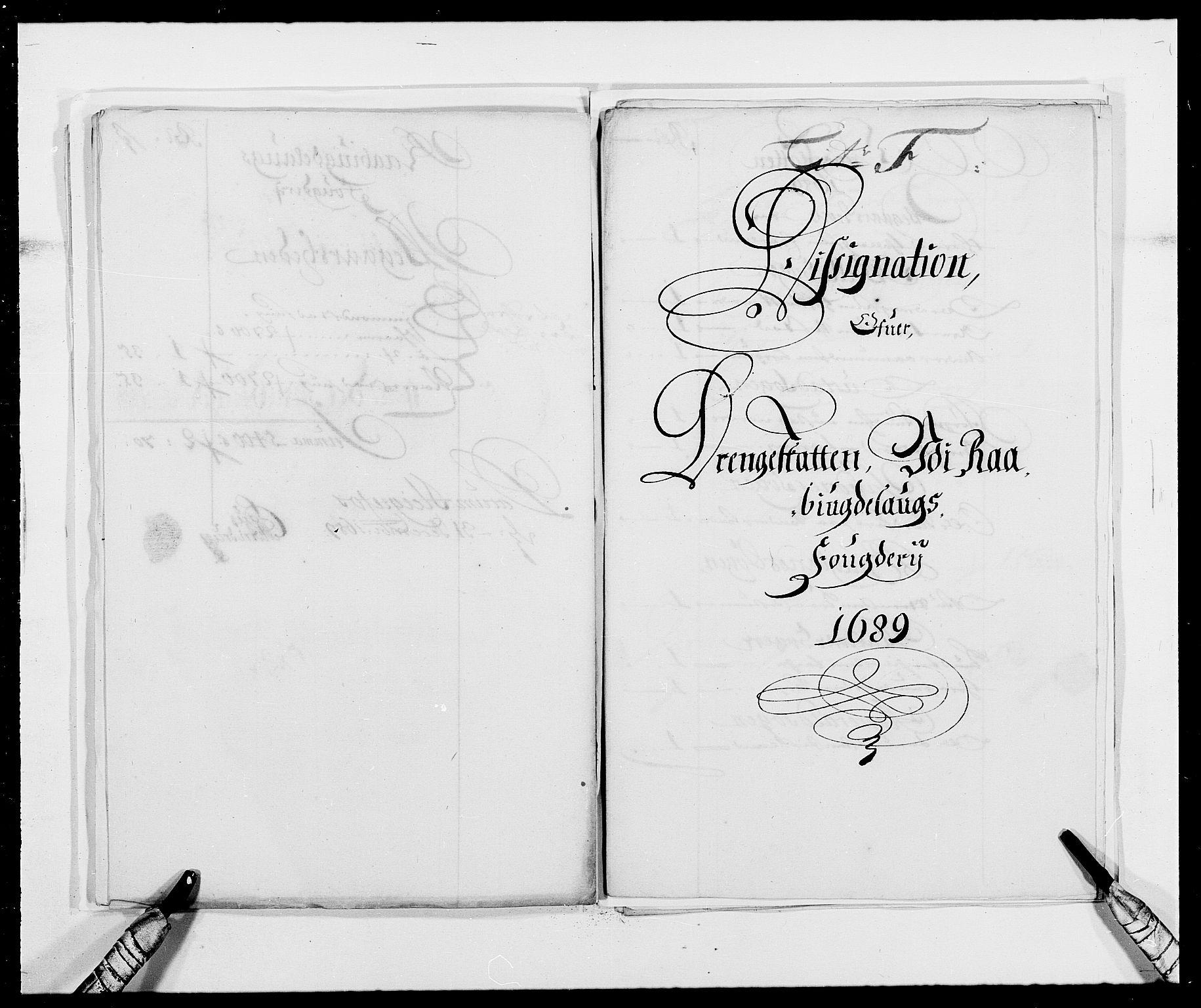 RA, Rentekammeret inntil 1814, Reviderte regnskaper, Fogderegnskap, R40/L2442: Fogderegnskap Råbyggelag, 1689-1690, s. 79