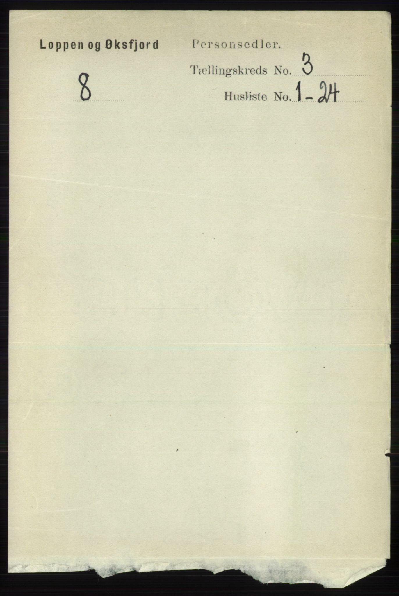 RA, Folketelling 1891 for 2014 Loppa herred, 1891, s. 673
