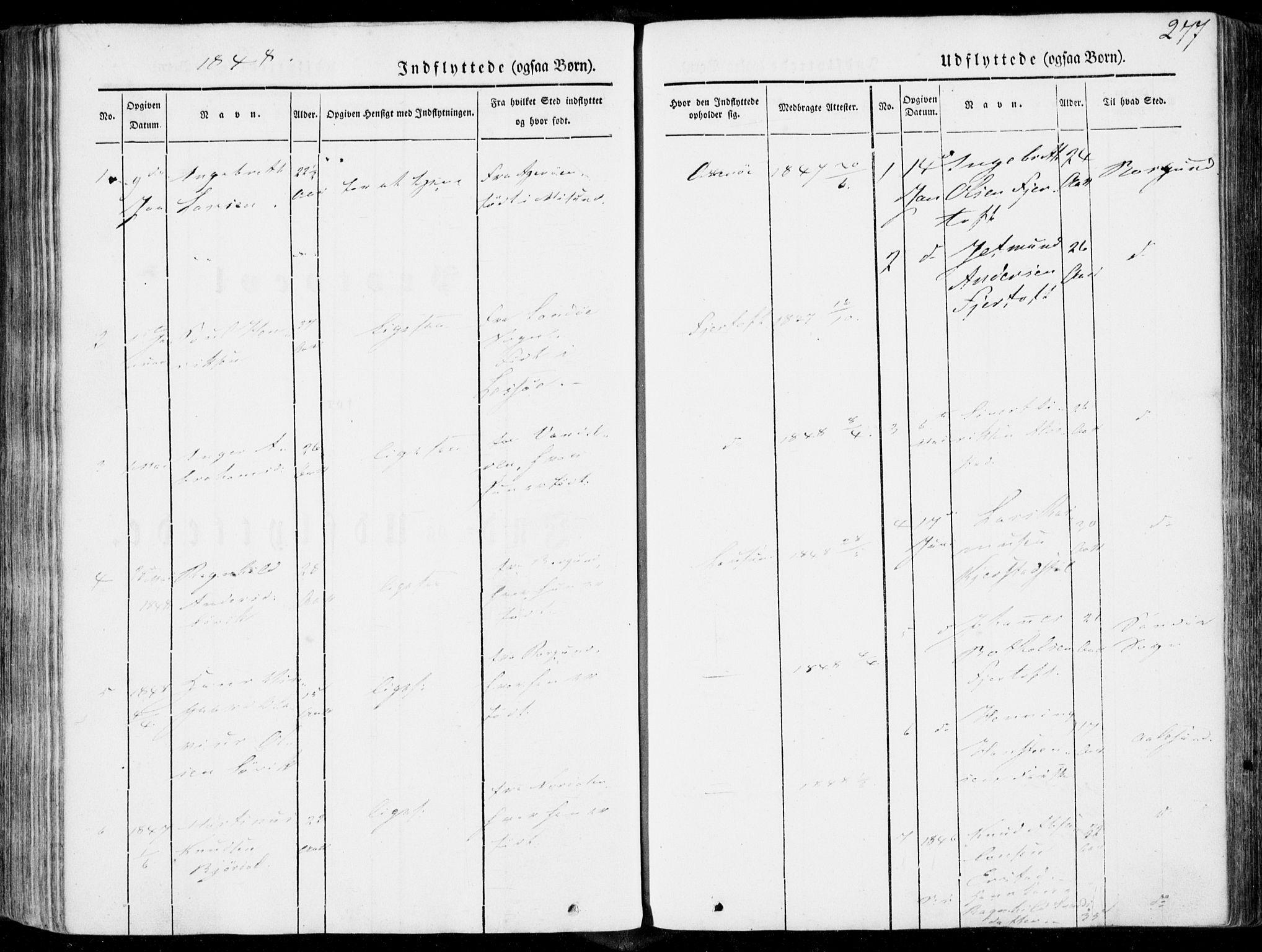 SAT, Ministerialprotokoller, klokkerbøker og fødselsregistre - Møre og Romsdal, 536/L0497: Ministerialbok nr. 536A06, 1845-1865, s. 277
