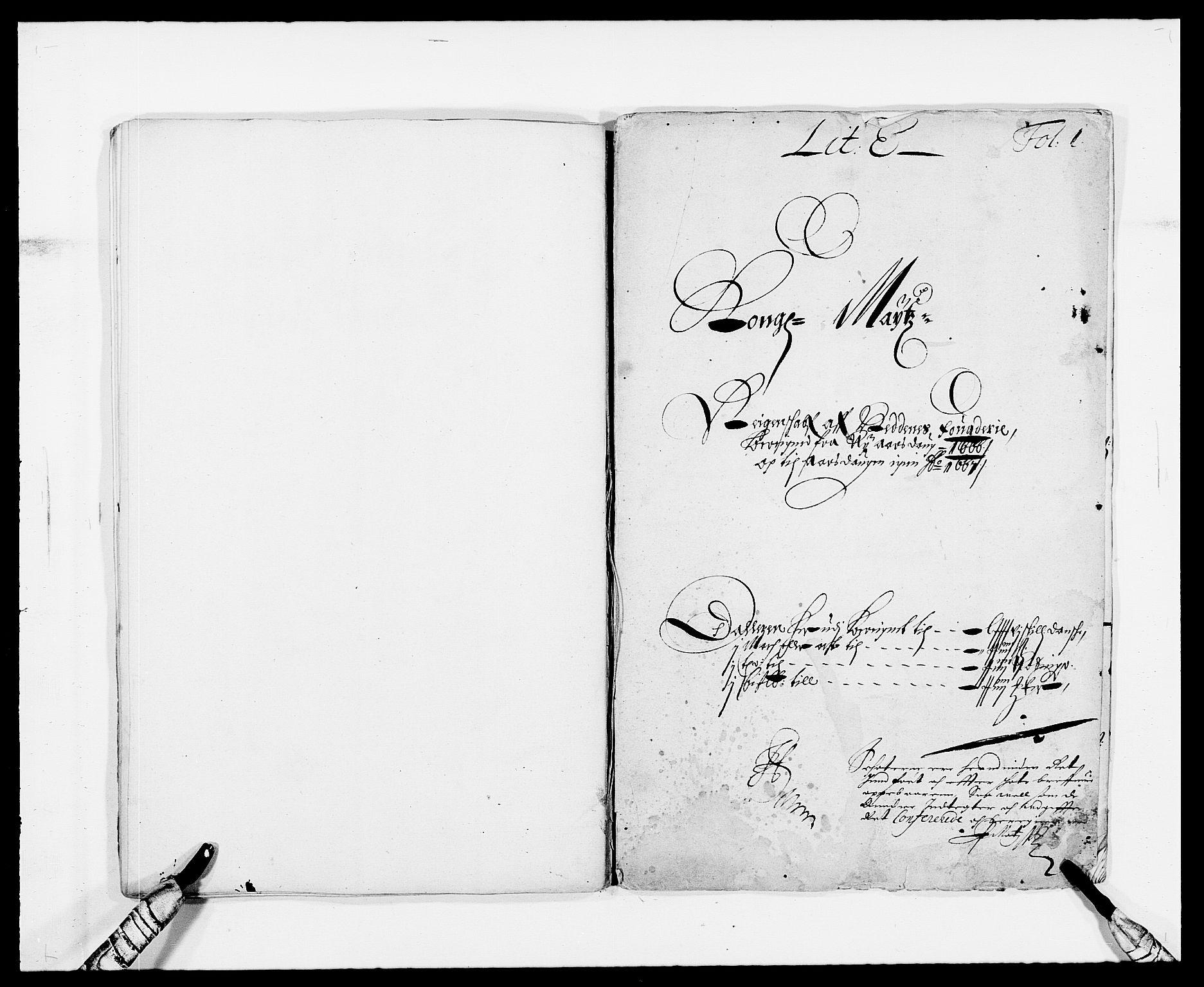 RA, Rentekammeret inntil 1814, Reviderte regnskaper, Fogderegnskap, R39/L2296: Fogderegnskap Nedenes, 1664-1666, s. 67