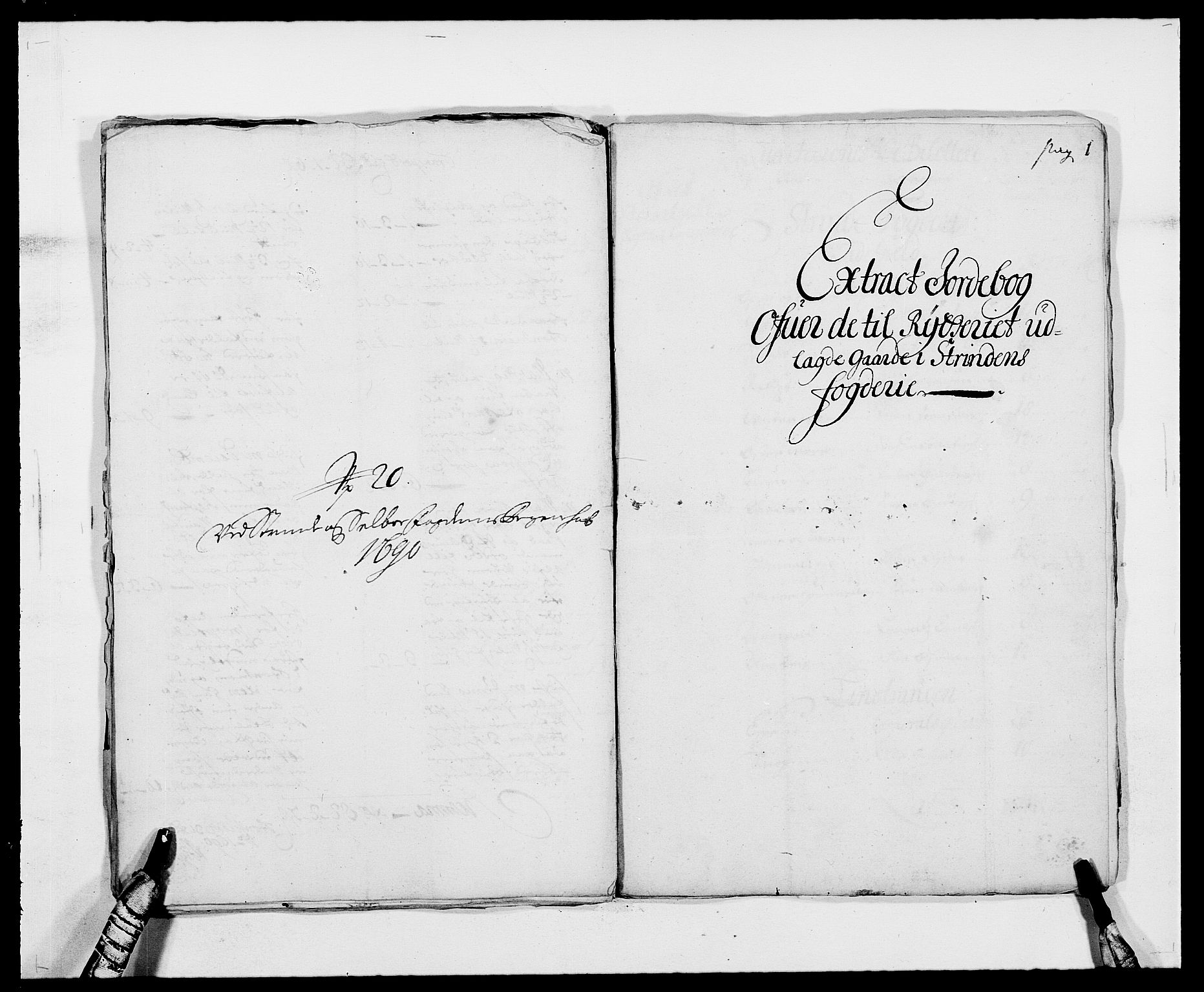 RA, Rentekammeret inntil 1814, Reviderte regnskaper, Fogderegnskap, R61/L4102: Fogderegnskap Strinda og Selbu, 1689-1690, s. 302