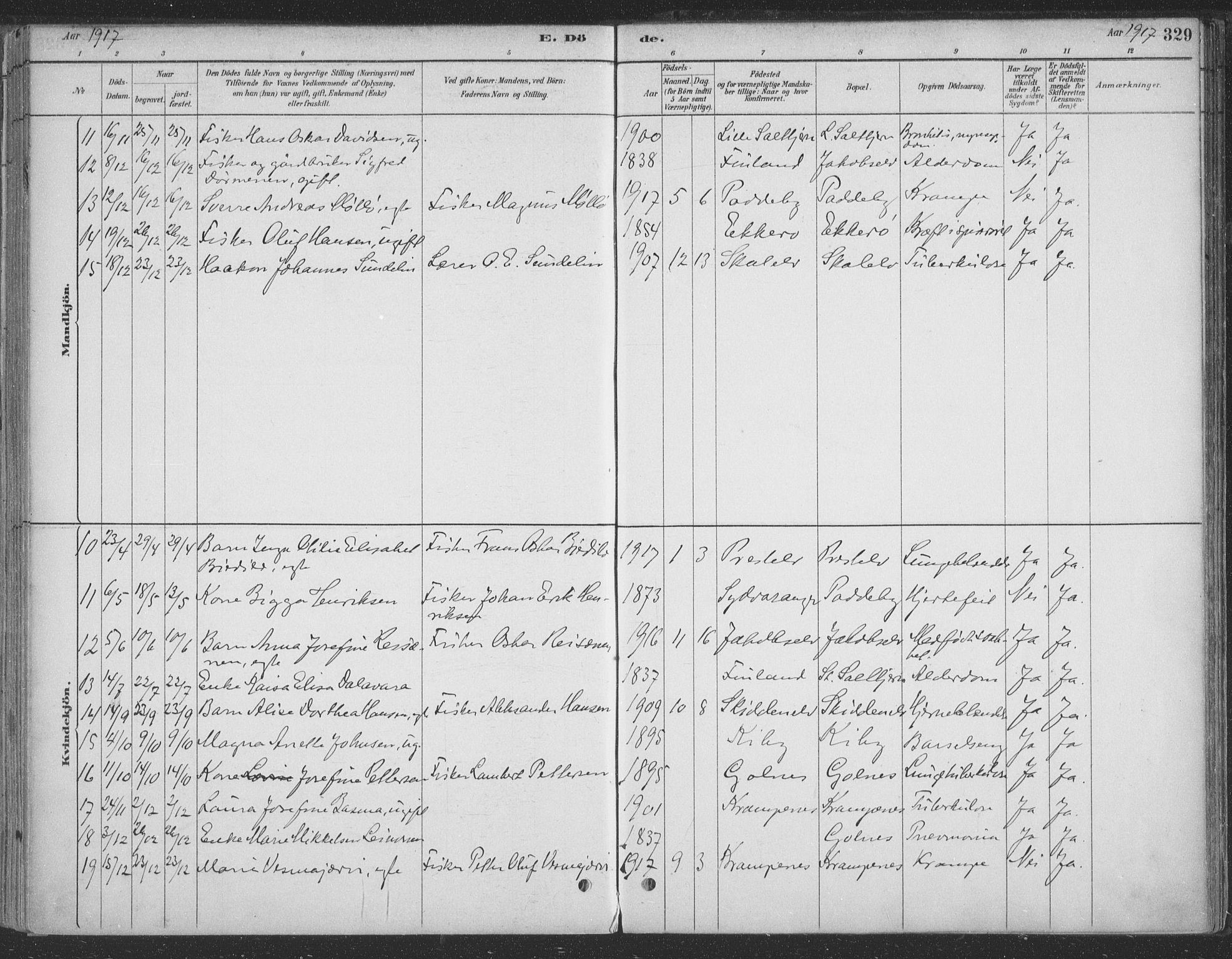 SATØ, Vadsø sokneprestkontor, H/Ha/L0009kirke: Ministerialbok nr. 9, 1881-1917, s. 329
