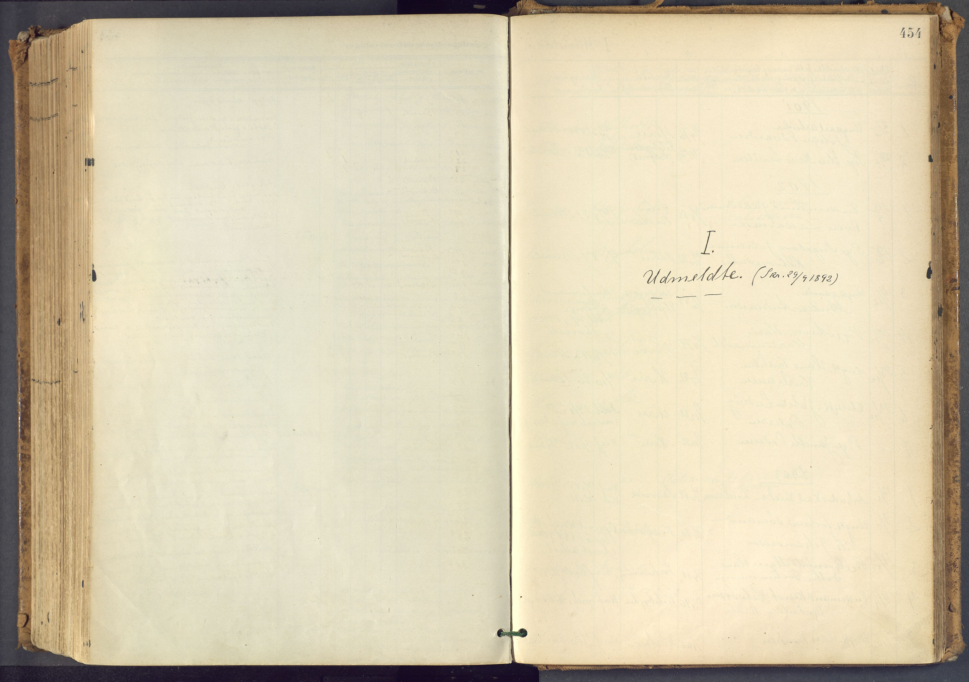 SAKO, Bamble kirkebøker, F/Fa/L0009: Ministerialbok nr. I 9, 1901-1917, s. 454