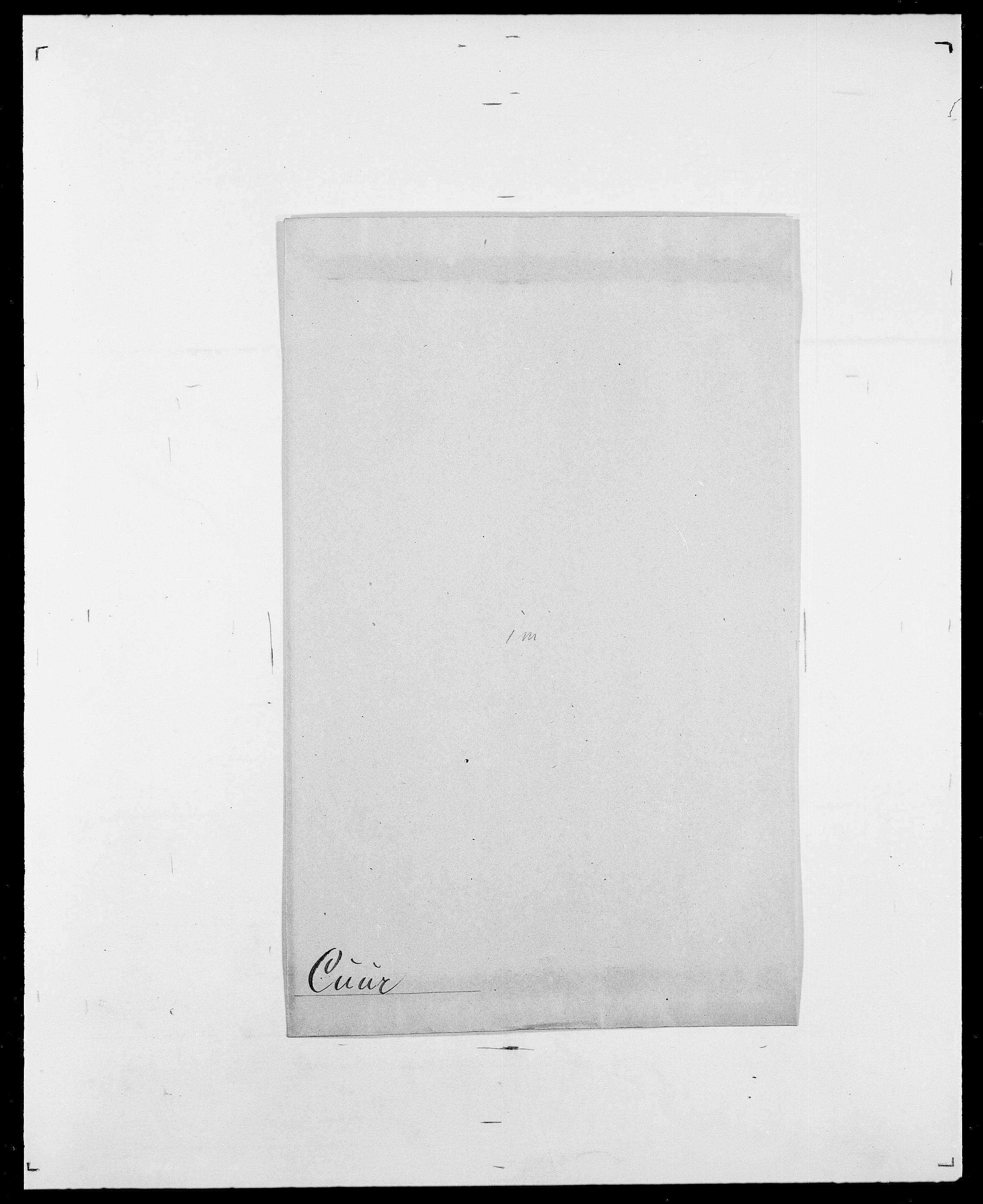 SAO, Delgobe, Charles Antoine - samling, D/Da/L0008: Capjon - Dagenbolt, s. 653