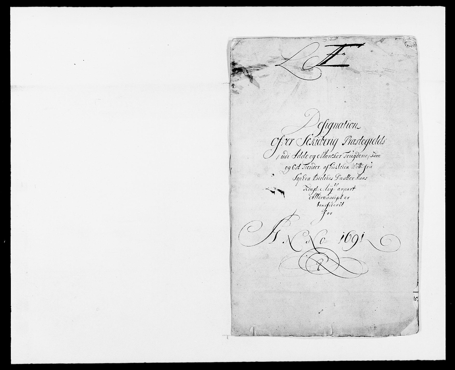 RA, Rentekammeret inntil 1814, Reviderte regnskaper, Fogderegnskap, R01/L0010: Fogderegnskap Idd og Marker, 1690-1691, s. 418