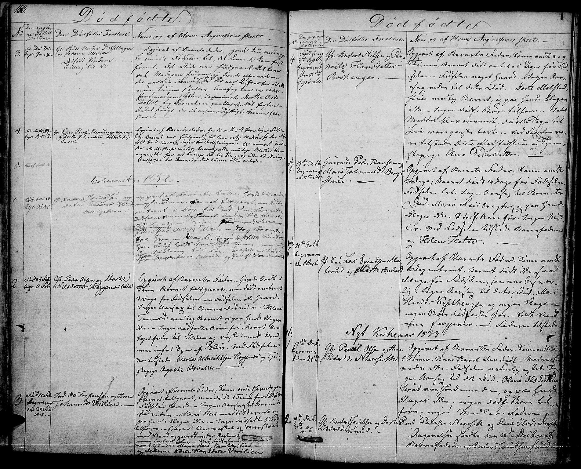 SAH, Vestre Toten prestekontor, H/Ha/Haa/L0002: Ministerialbok nr. 2, 1825-1837, s. 163