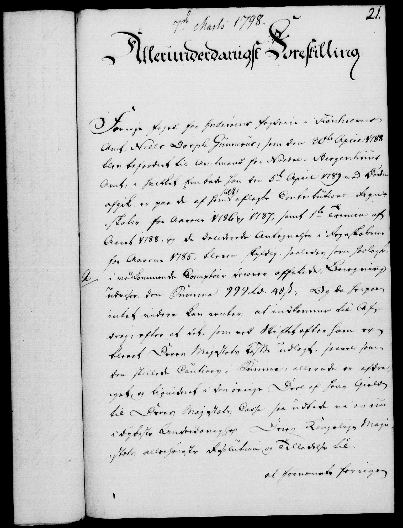 RA, Rentekammeret, Kammerkanselliet, G/Gf/Gfa/L0080: Norsk relasjons- og resolusjonsprotokoll (merket RK 52.80), 1798, s. 184