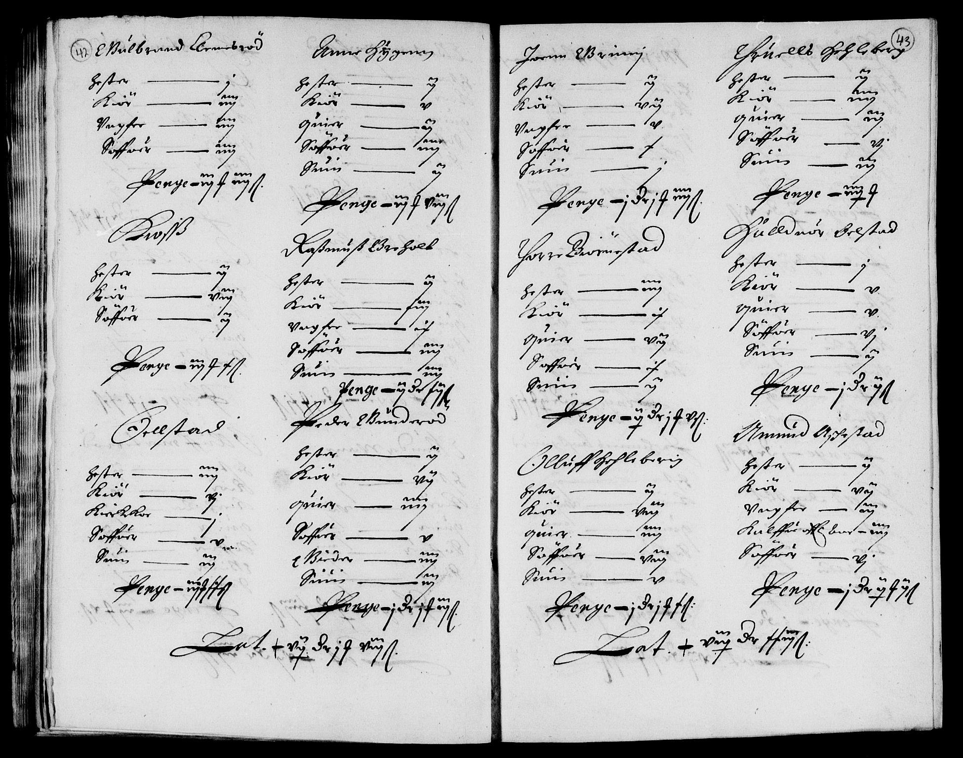 RA, Rentekammeret inntil 1814, Reviderte regnskaper, Lensregnskaper, R/Rb/Rba/L0245: Akershus len, 1657-1658