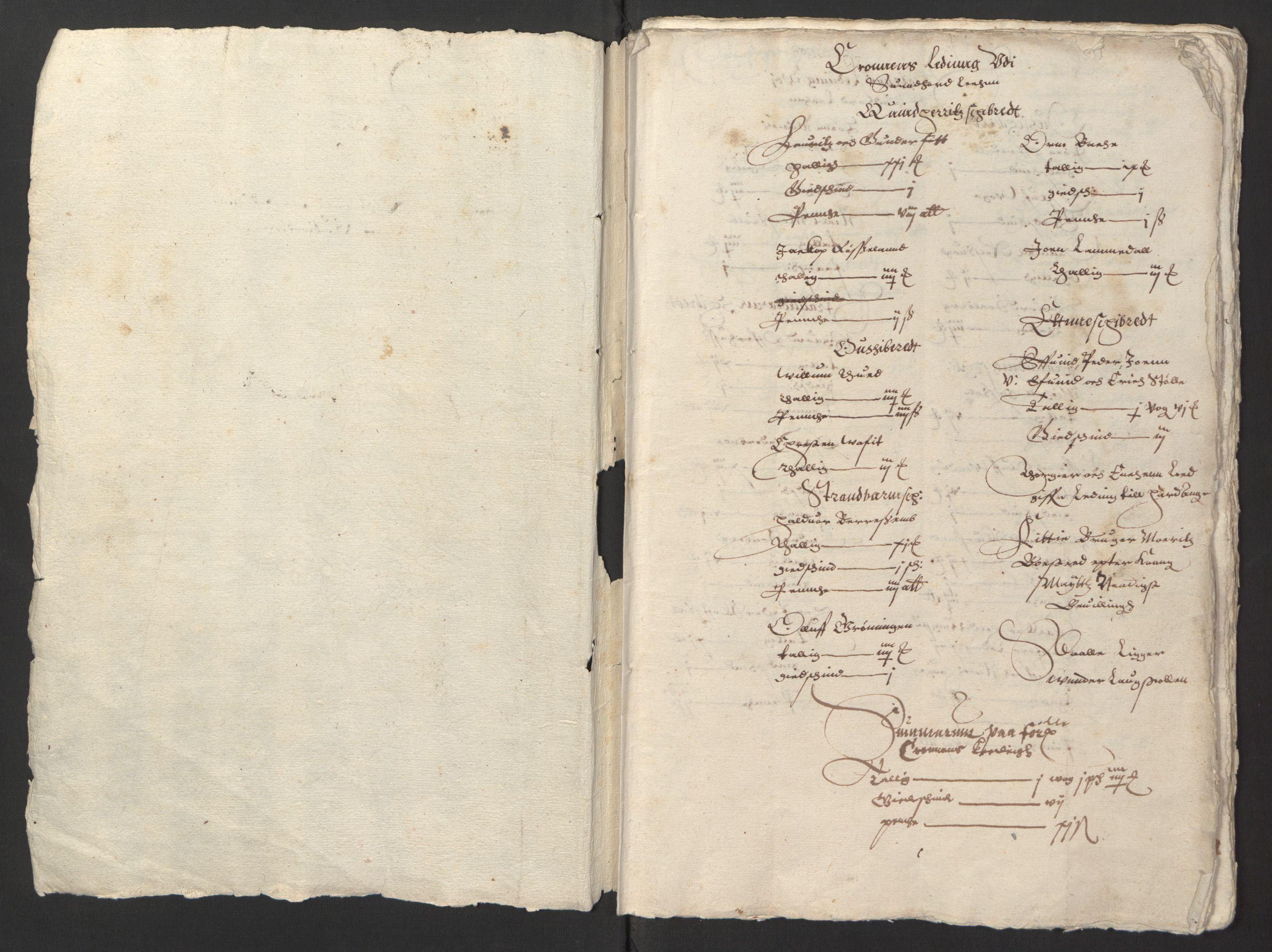 RA, Stattholderembetet 1572-1771, Ek/L0003: Jordebøker til utlikning av garnisonsskatt 1624-1626:, 1624-1625, s. 4
