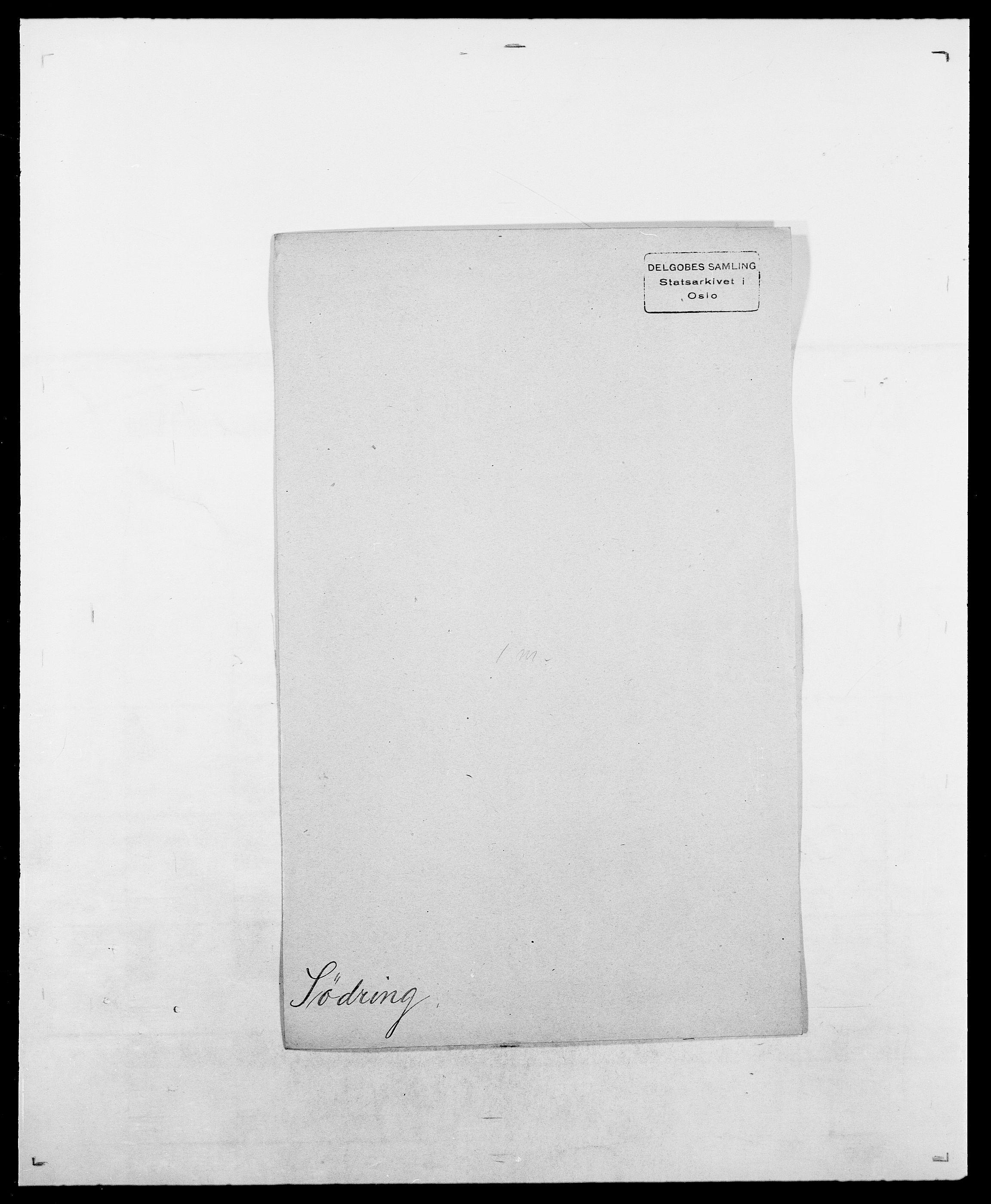 SAO, Delgobe, Charles Antoine - samling, D/Da/L0038: Svanenskjold - Thornsohn, s. 145