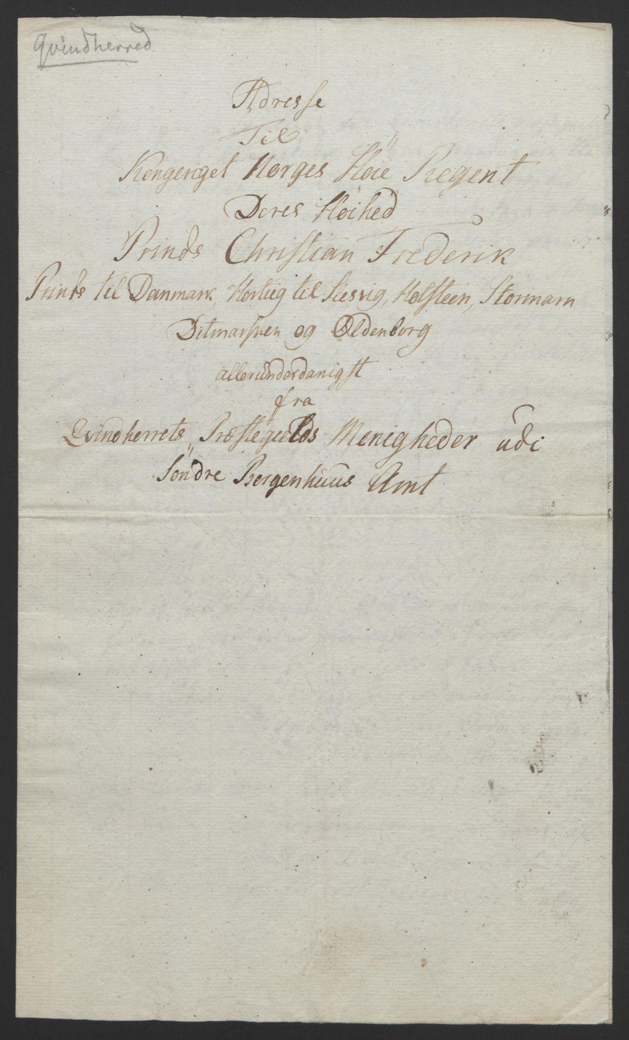 RA, Statsrådssekretariatet, D/Db/L0008: Fullmakter for Eidsvollsrepresentantene i 1814. , 1814, s. 286