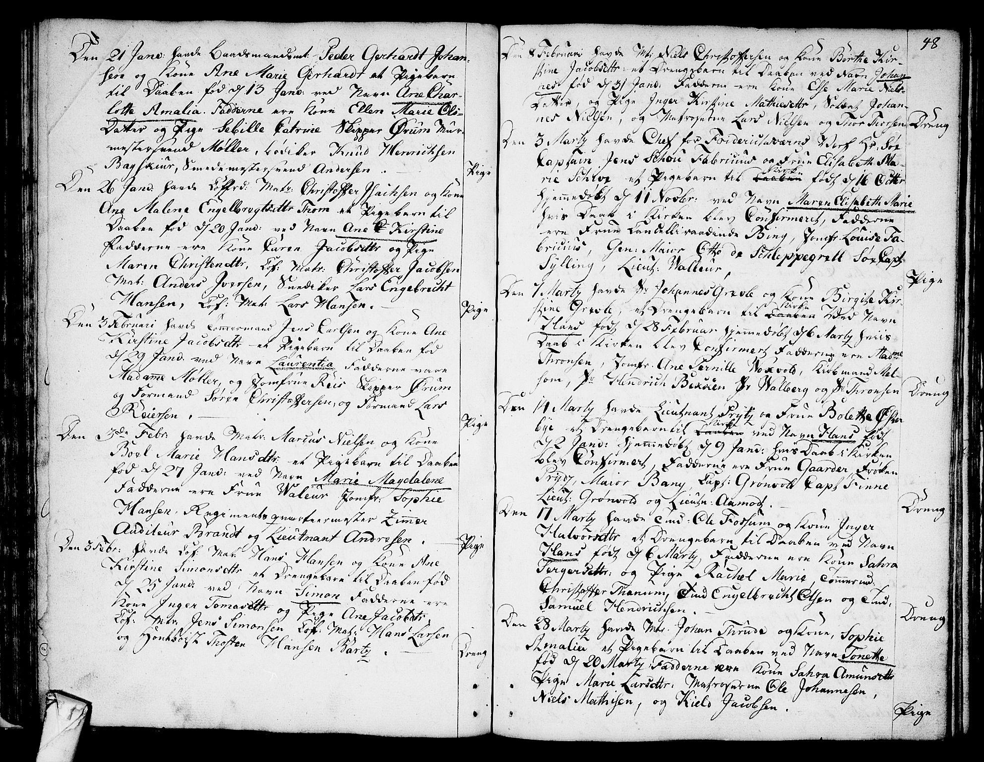 SAKO, Stavern kirkebøker, F/Fa/L0002: Ministerialbok nr. 2, 1783-1809, s. 48