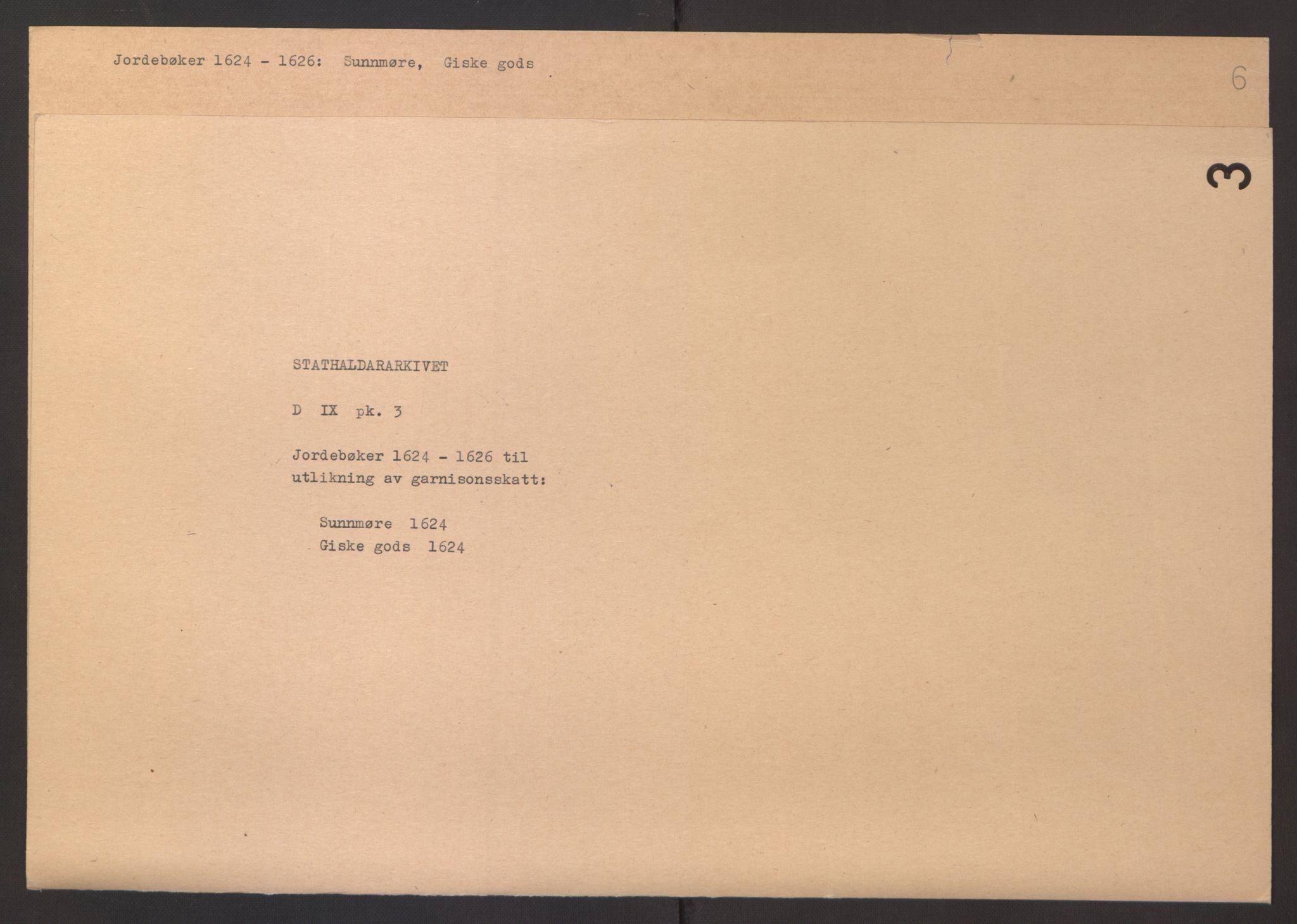 RA, Stattholderembetet 1572-1771, Ek/L0003: Jordebøker til utlikning av garnisonsskatt 1624-1626:, 1624-1625, s. 290