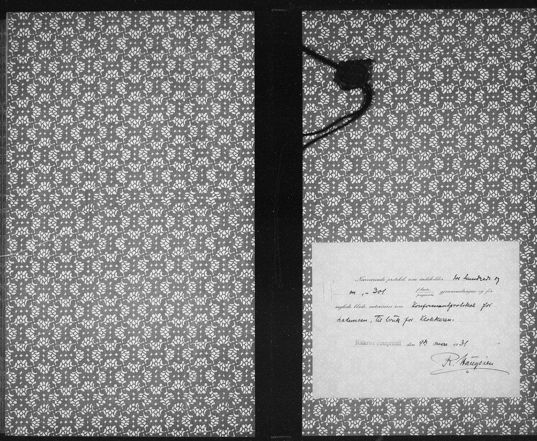 SAT, Ministerialprotokoller, klokkerbøker og fødselsregistre - Sør-Trøndelag, 605/L0262: Klokkerbok nr. 605C09, 1930-1933