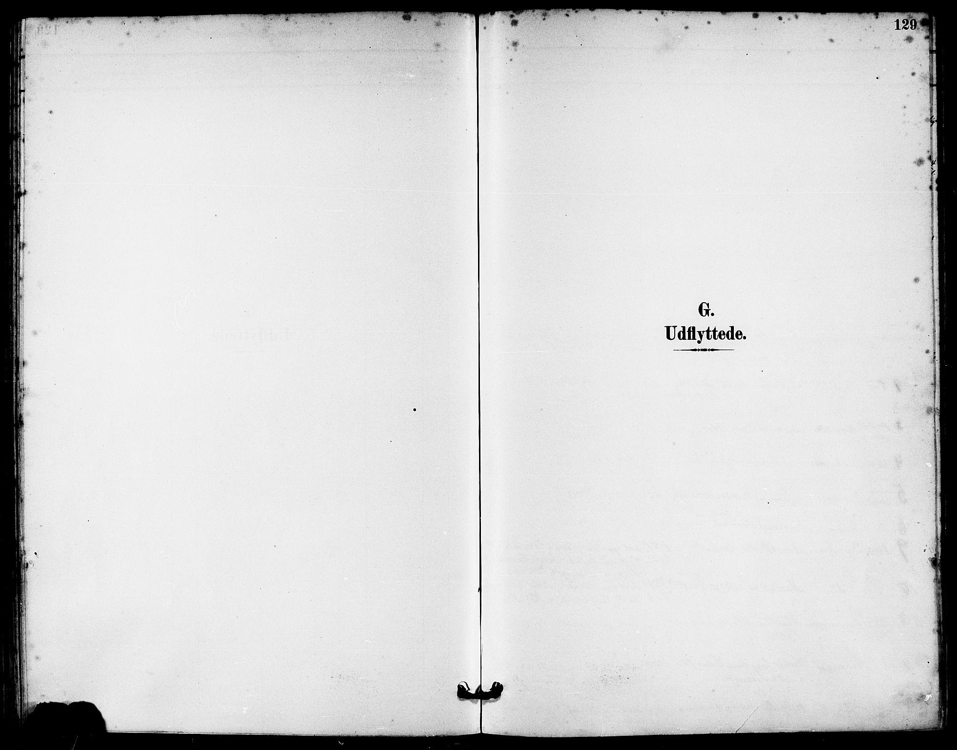 SAST, Håland sokneprestkontor, 30BA/L0010: Ministerialbok nr. A 9, 1883-1888, s. 129