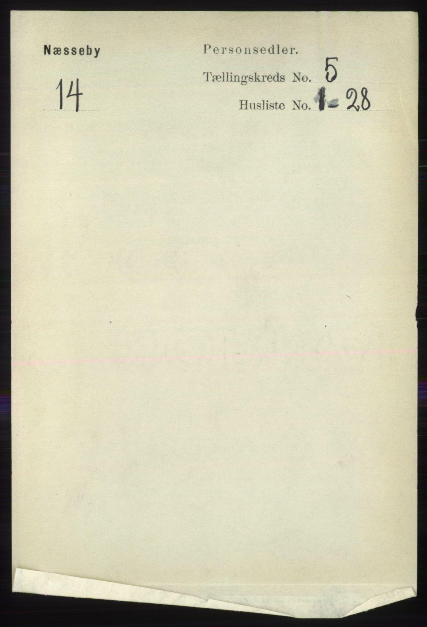 RA, Folketelling 1891 for 2027 Nesseby herred, 1891, s. 1453
