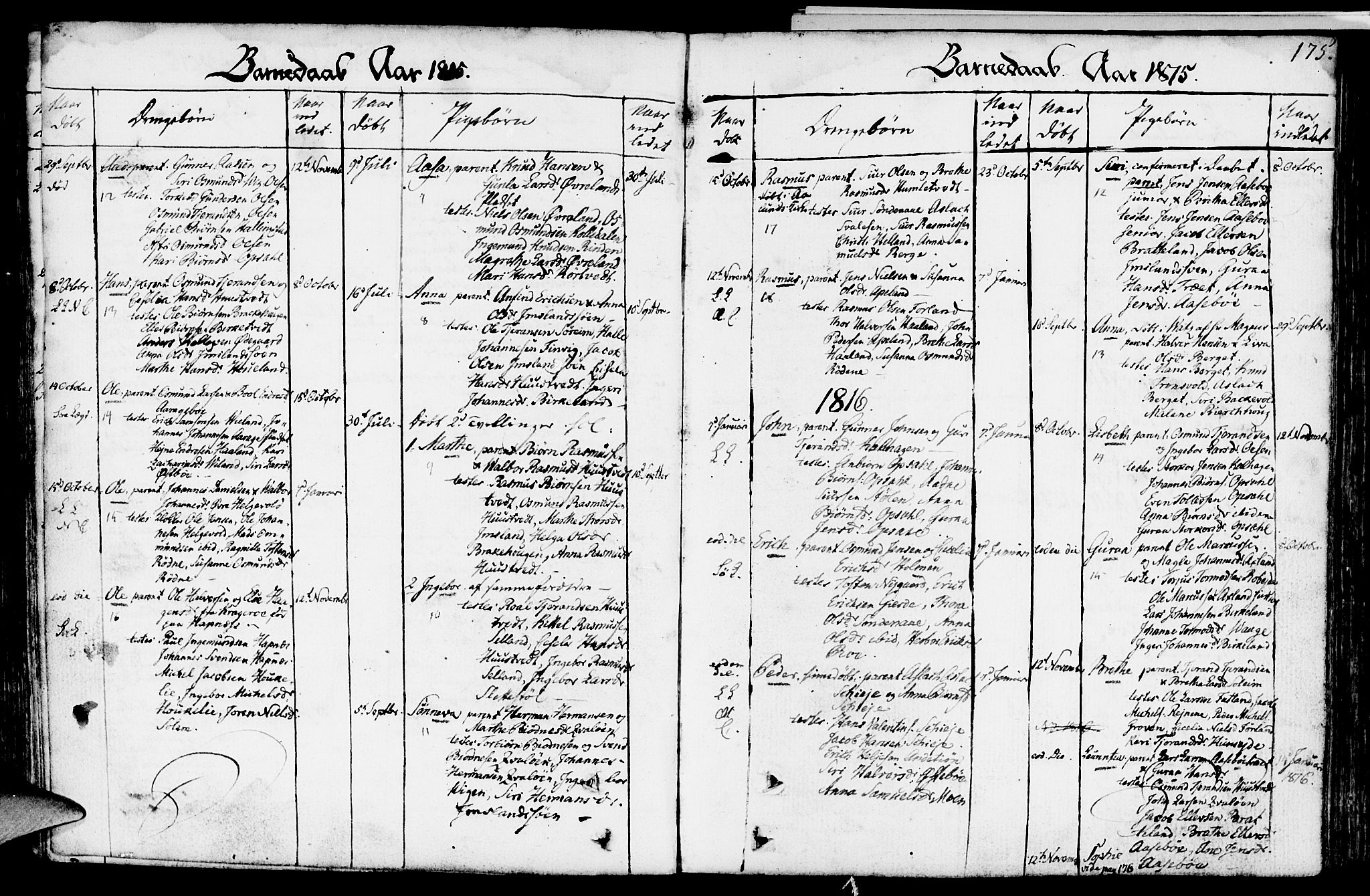 SAST, Vikedal sokneprestkontor, IV: Ministerialbok nr. A 2, 1779-1817, s. 175