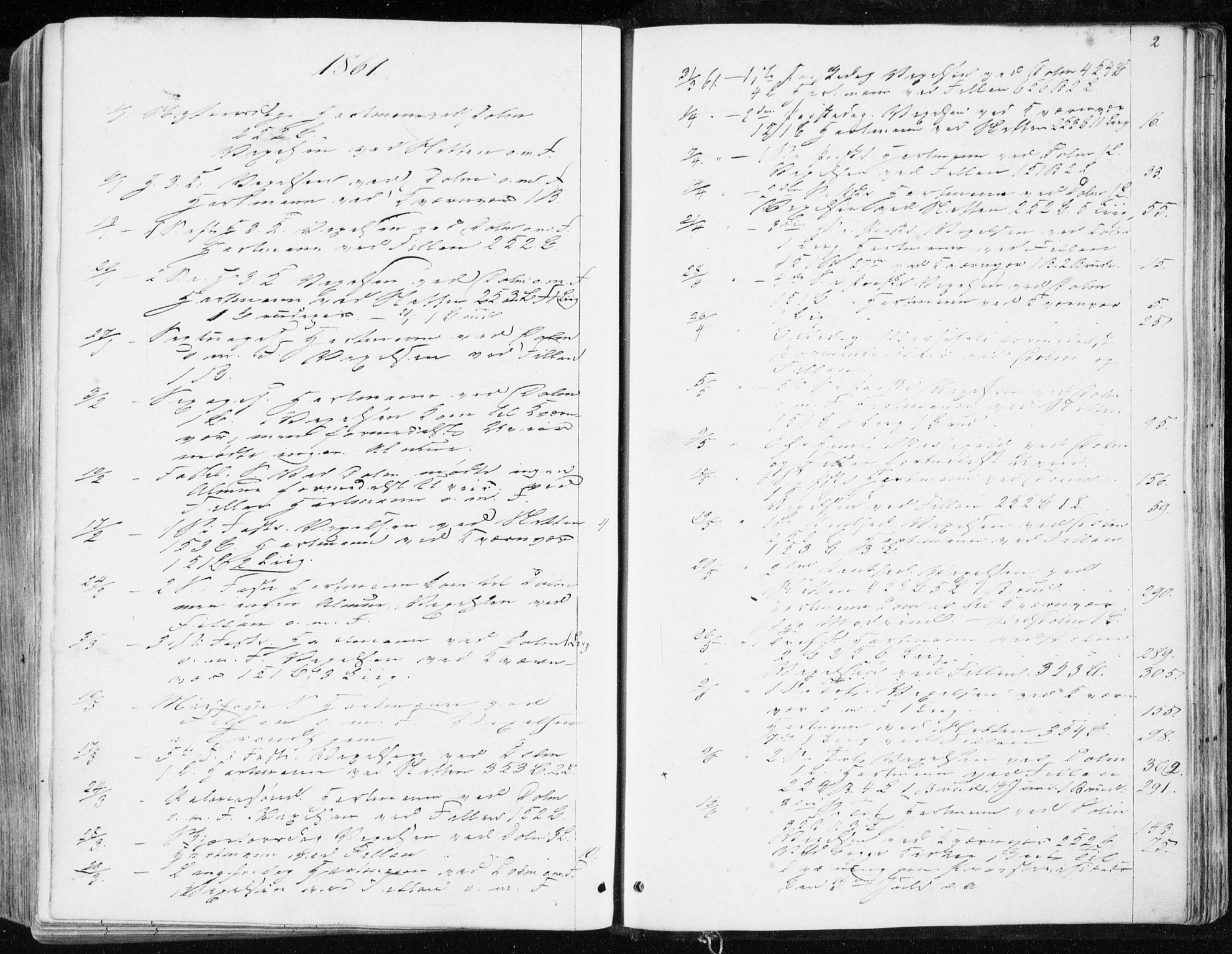SAT, Ministerialprotokoller, klokkerbøker og fødselsregistre - Sør-Trøndelag, 634/L0531: Ministerialbok nr. 634A07, 1861-1870, s. 2