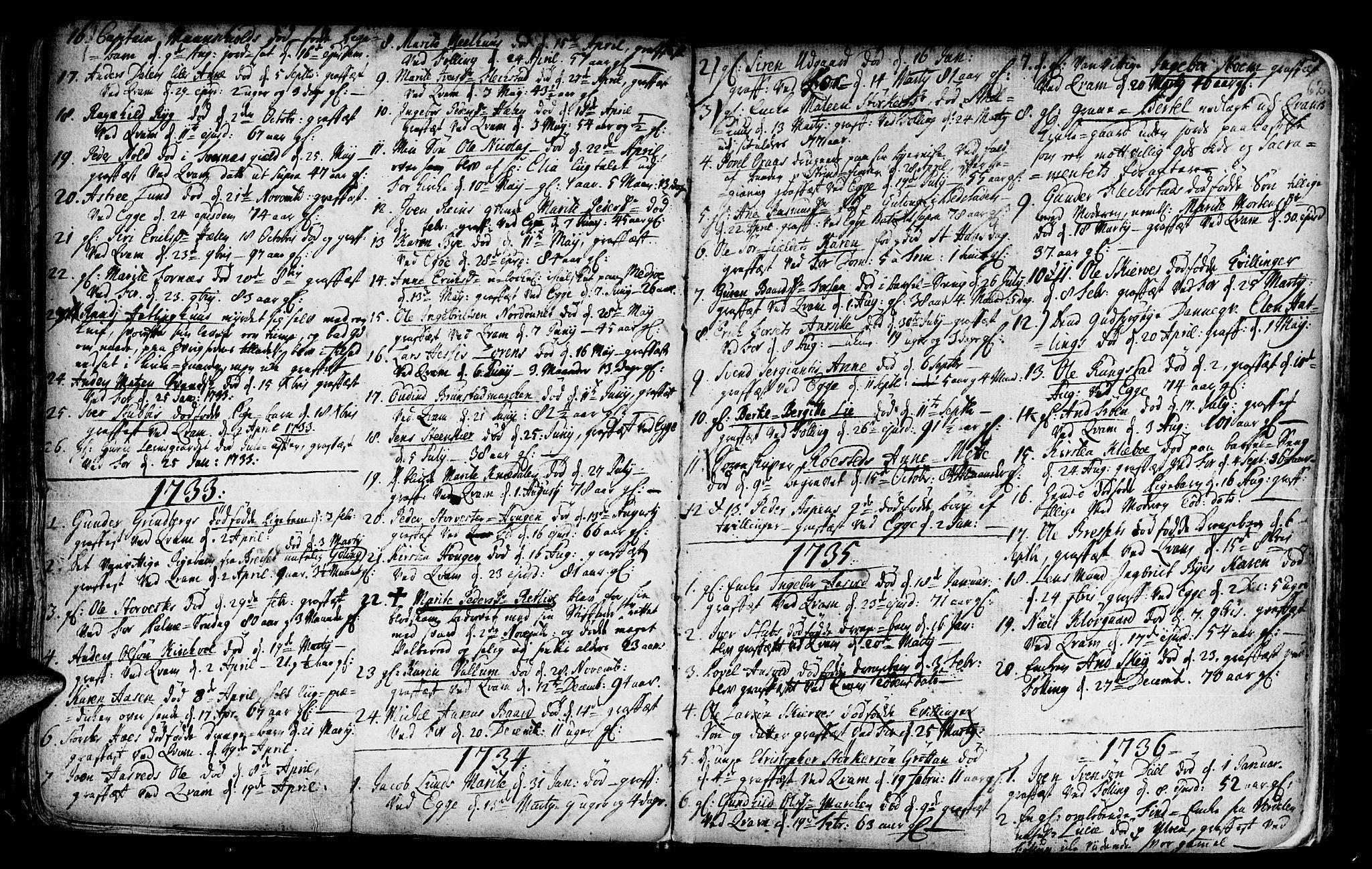 SAT, Ministerialprotokoller, klokkerbøker og fødselsregistre - Nord-Trøndelag, 746/L0439: Ministerialbok nr. 746A01, 1688-1759, s. 62
