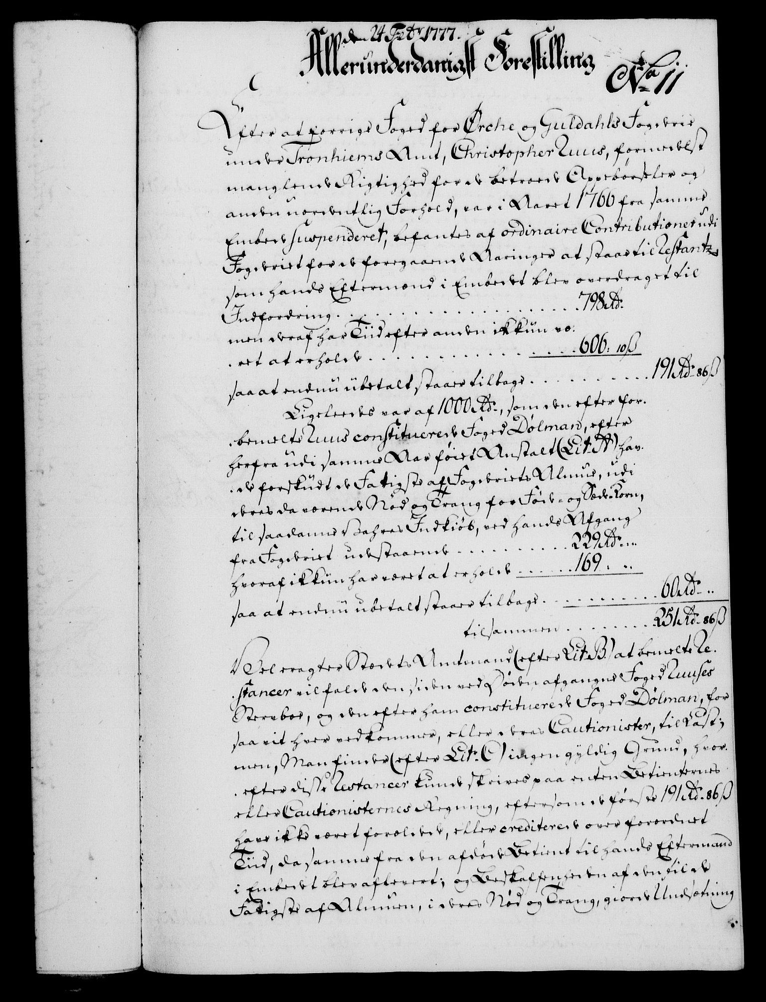 RA, Rentekammeret, Kammerkanselliet, G/Gf/Gfa/L0059: Norsk relasjons- og resolusjonsprotokoll (merket RK 52.59), 1777, s. 68