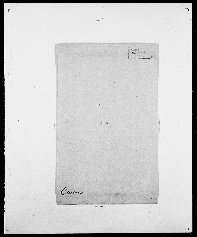 SAO, Delgobe, Charles Antoine - samling, D/Da/L0008: Capjon - Dagenbolt, s. 632