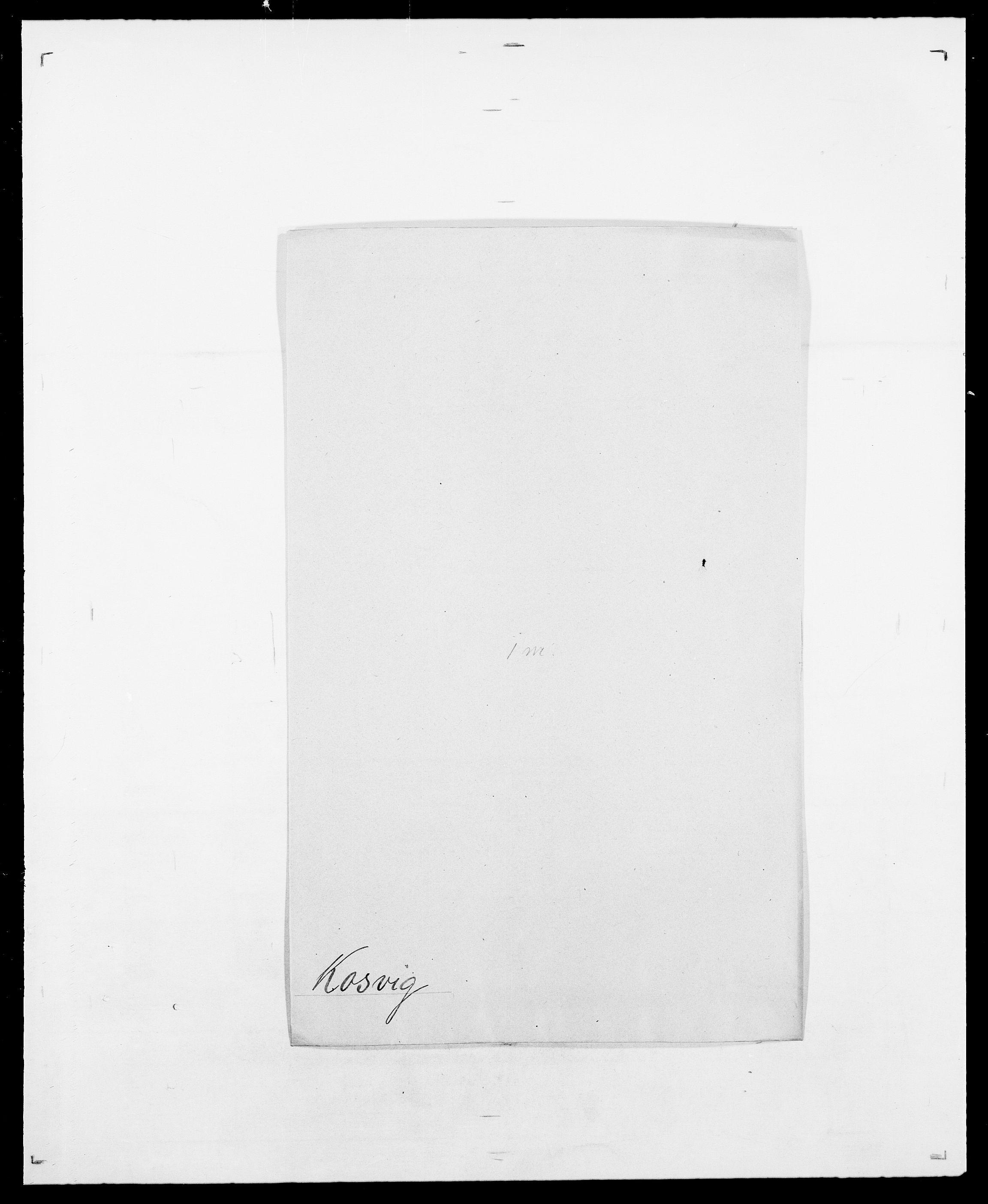 SAO, Delgobe, Charles Antoine - samling, D/Da/L0021: Klagenberg - Kristoft, s. 594