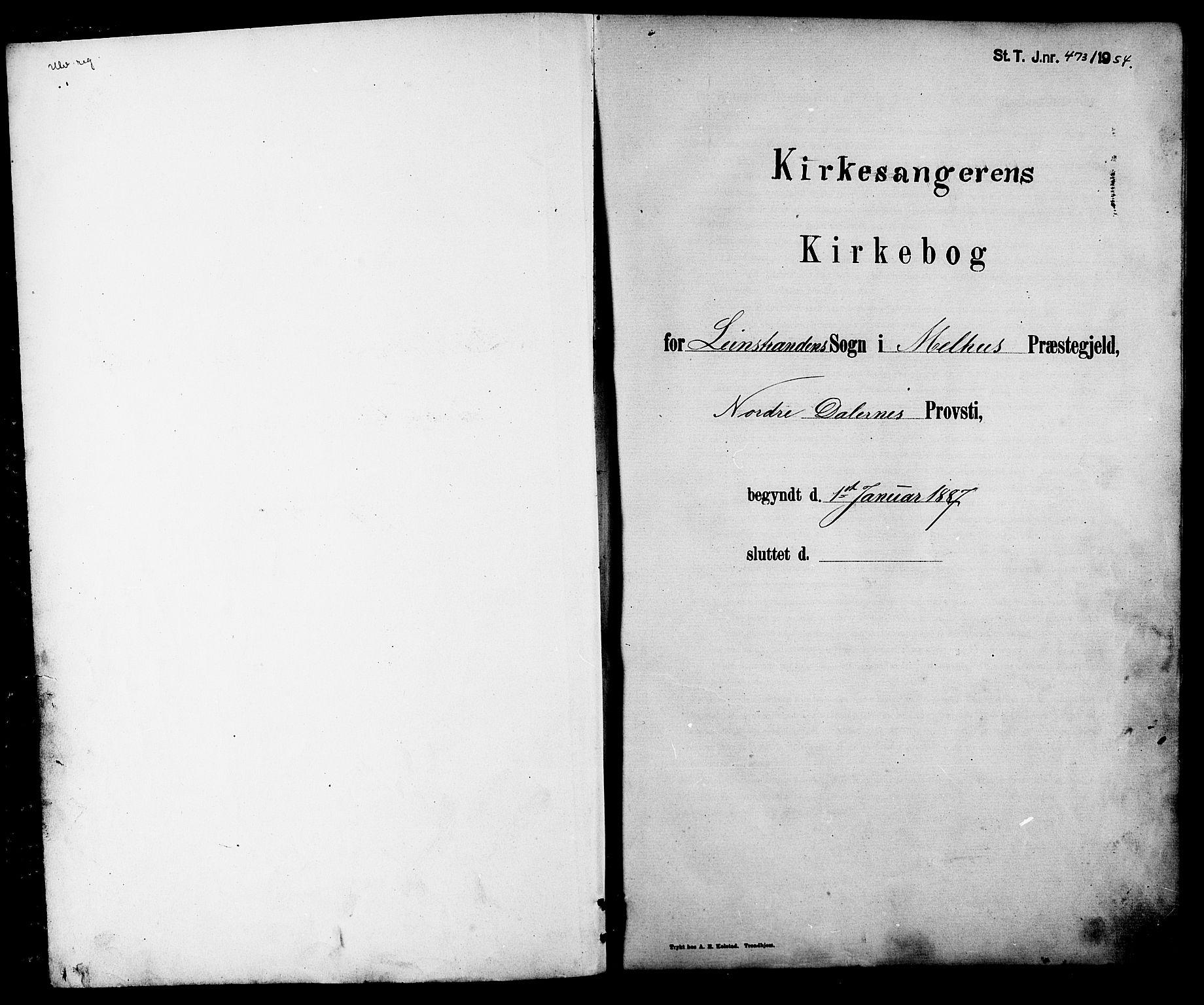 SAT, Ministerialprotokoller, klokkerbøker og fødselsregistre - Sør-Trøndelag, 613/L0395: Klokkerbok nr. 613C03, 1887-1909