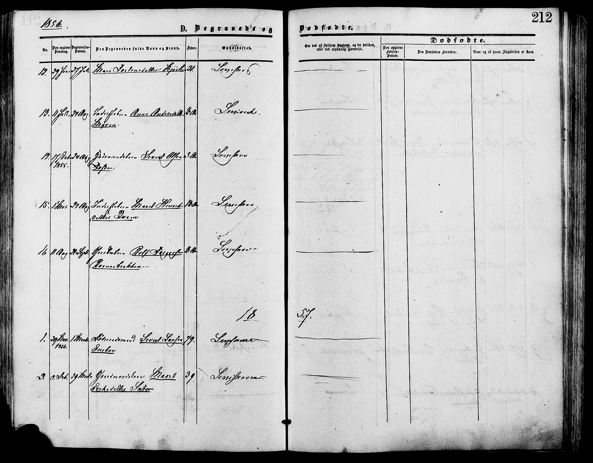 SAH, Lesja prestekontor, Ministerialbok nr. 9, 1854-1889, s. 212