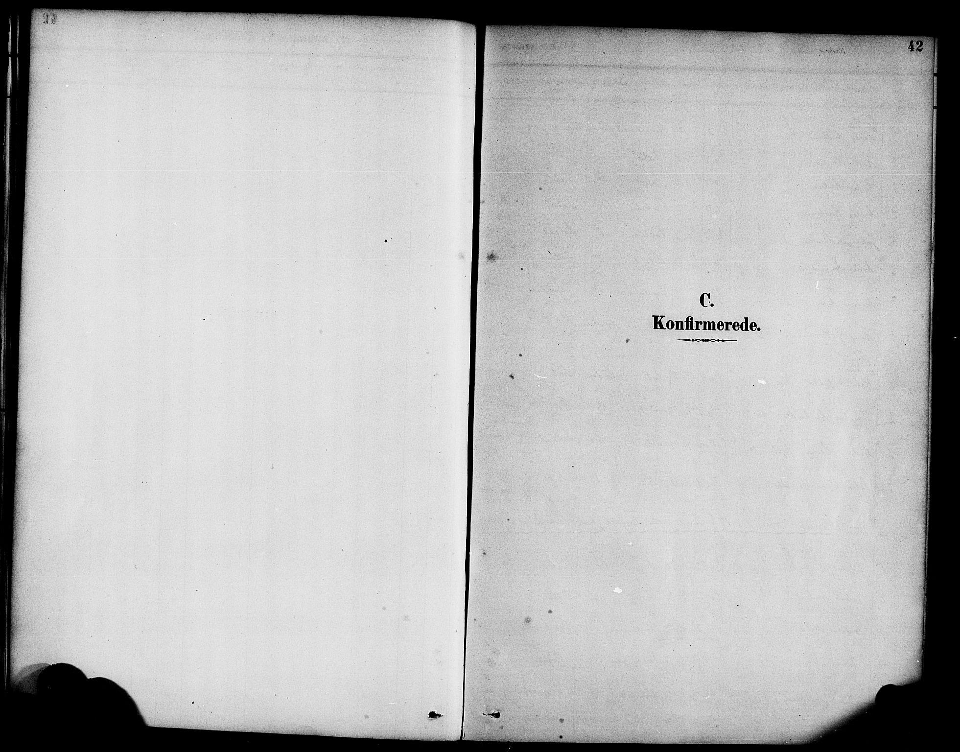 SAB, Hyllestad Sokneprestembete, Ministerialbok nr. C 1, 1886-1904, s. 42