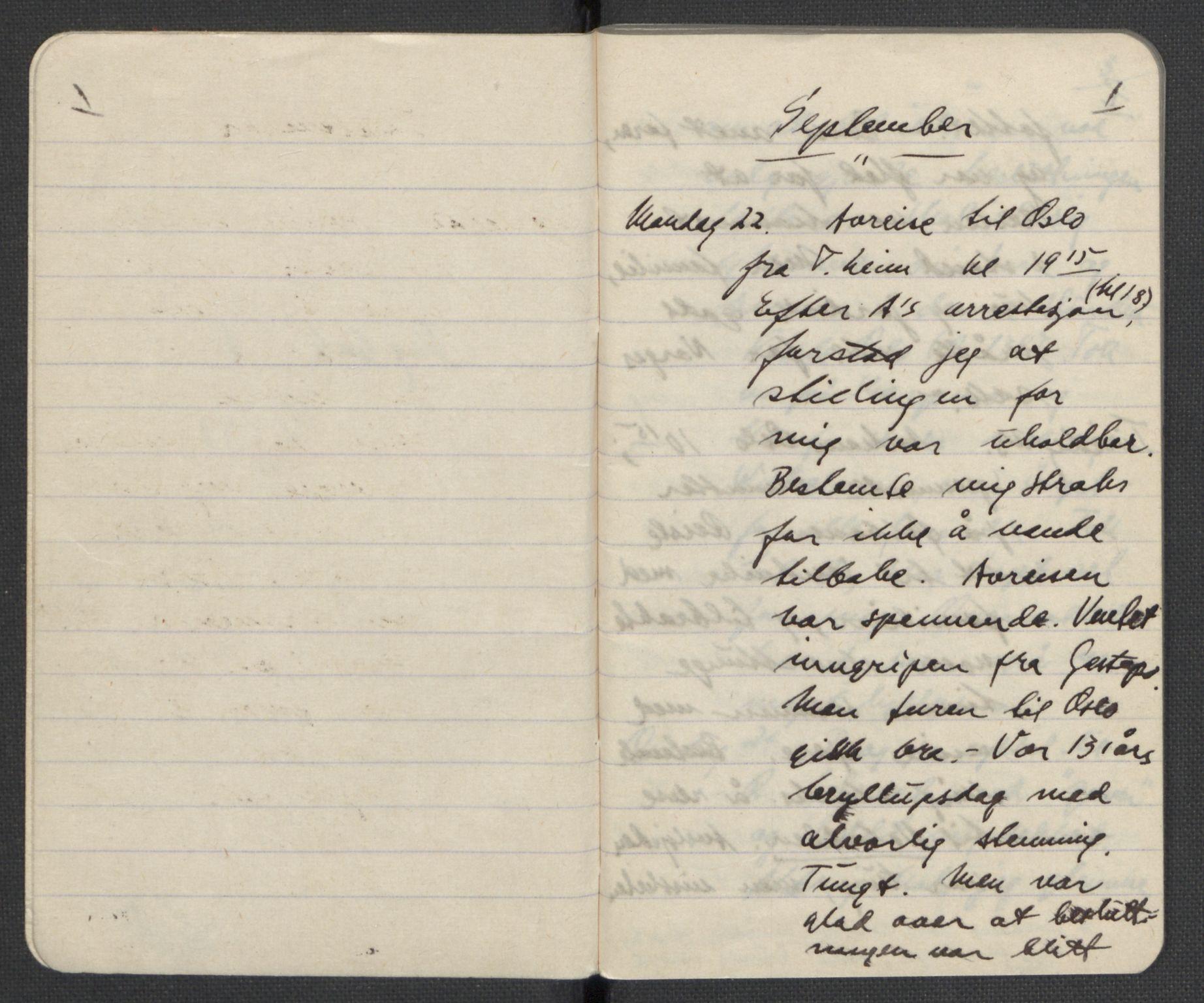 RA, Tronstad, Leif, F/L0001: Dagbøker, 1941-1945, s. 4