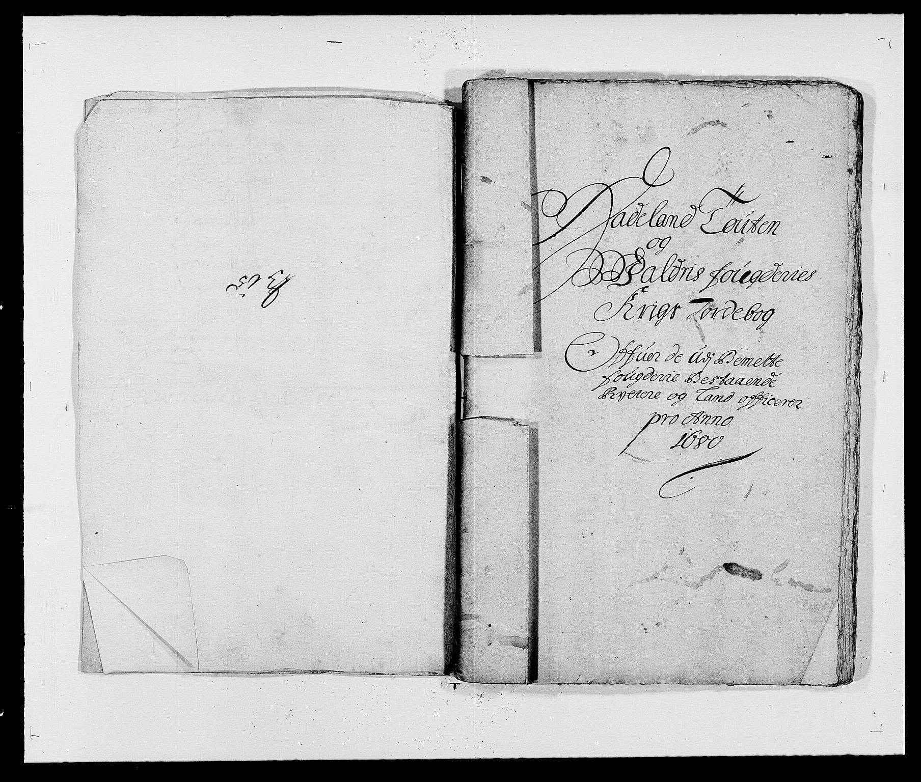 RA, Rentekammeret inntil 1814, Reviderte regnskaper, Fogderegnskap, R18/L1277: Fogderegnskap Hadeland, Toten og Valdres, 1680, s. 107