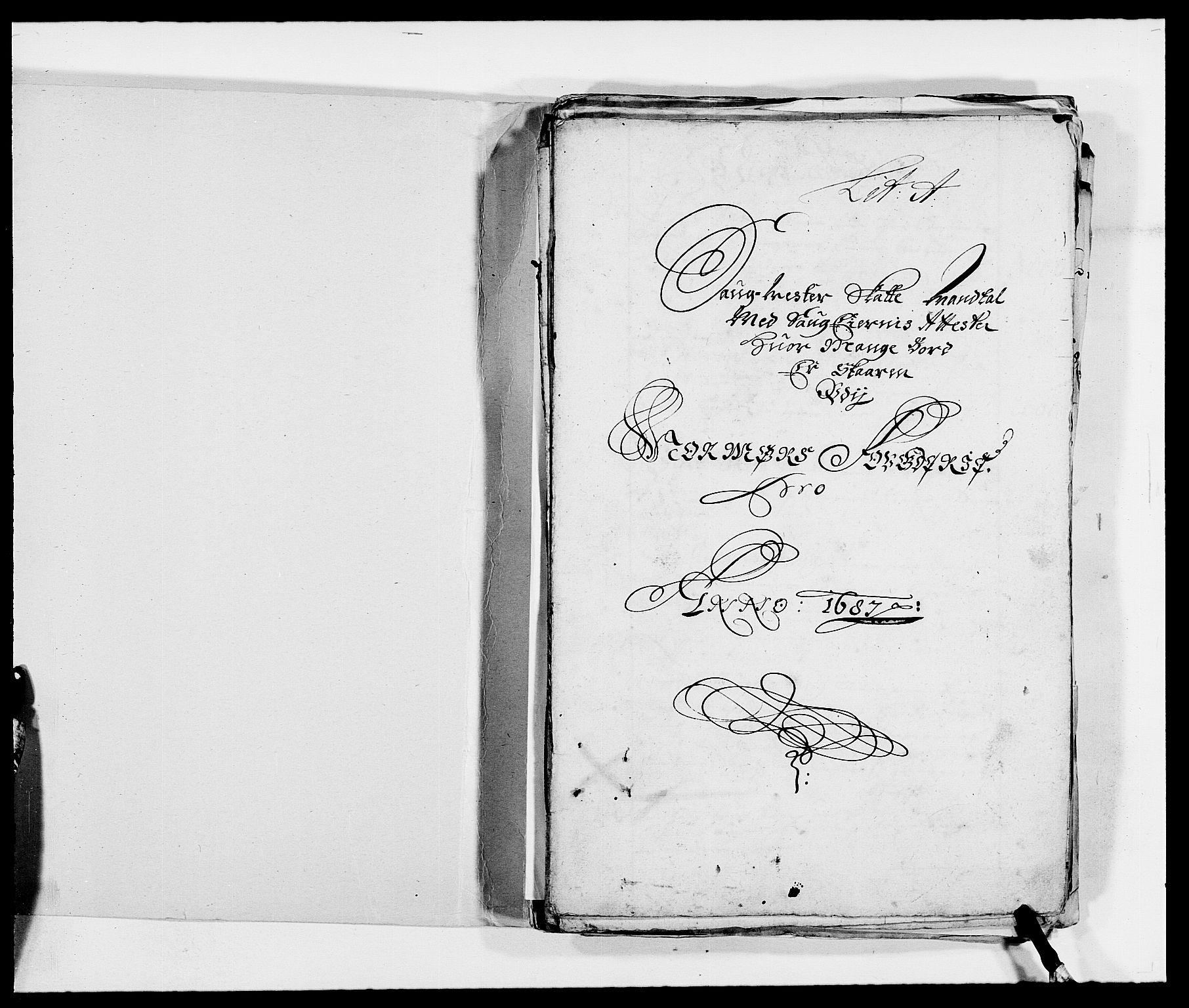 RA, Rentekammeret inntil 1814, Reviderte regnskaper, Fogderegnskap, R56/L3733: Fogderegnskap Nordmøre, 1687-1689, s. 12