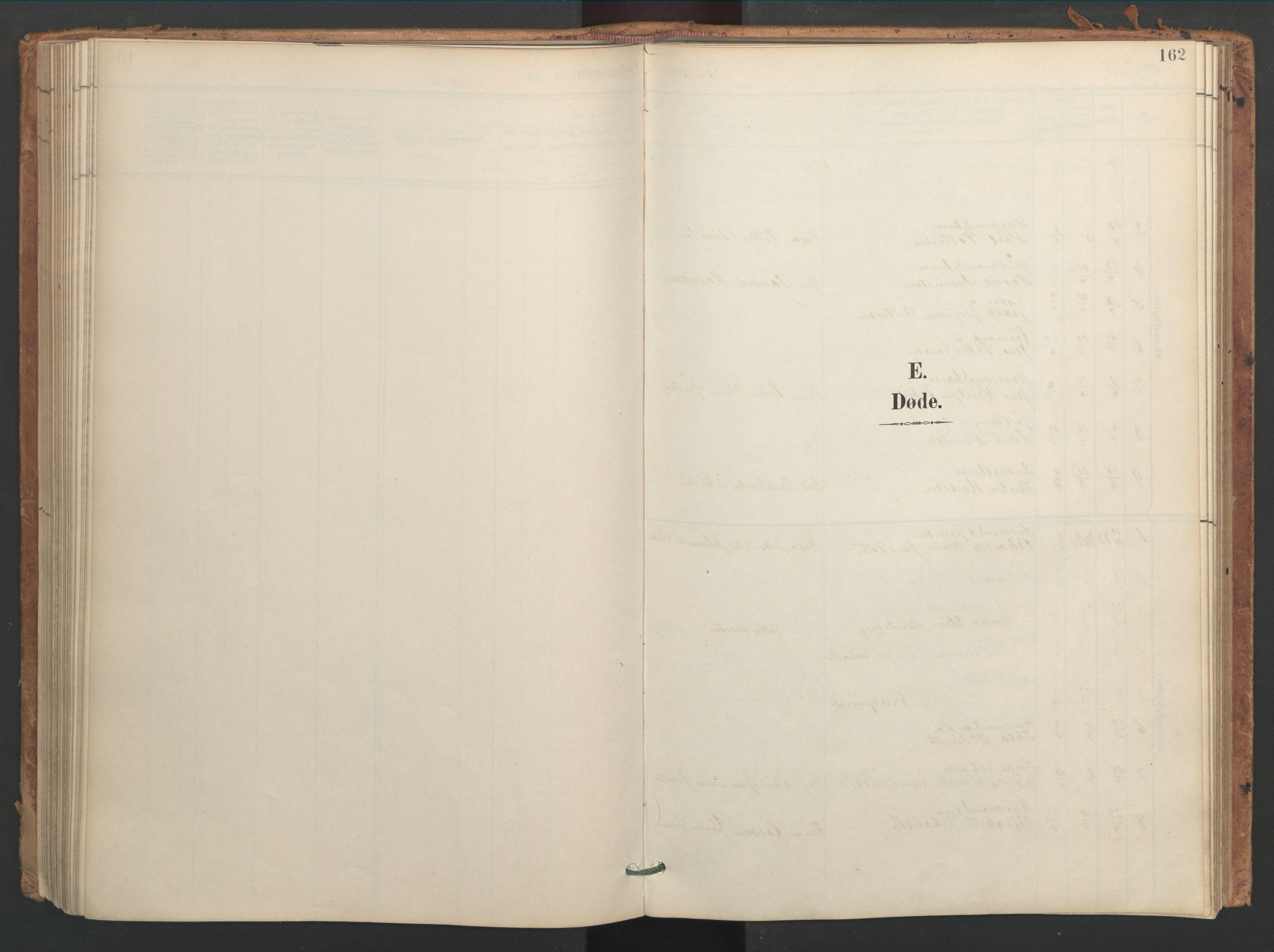 SAT, Ministerialprotokoller, klokkerbøker og fødselsregistre - Sør-Trøndelag, 656/L0693: Ministerialbok nr. 656A02, 1894-1913, s. 162