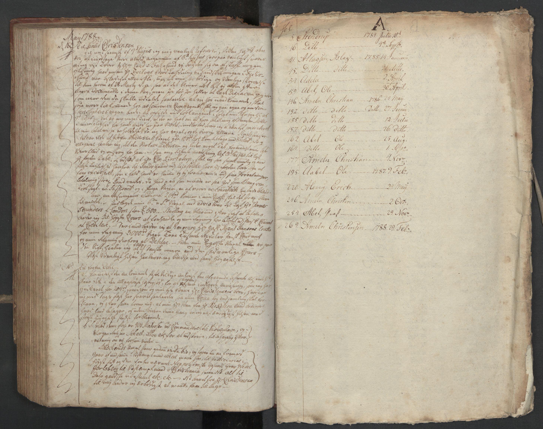SAST, Pa 0003 - Ploug & Sundt, handelshuset, B/L0005: Kopibok, 1784-1788, s. 282b-upag.